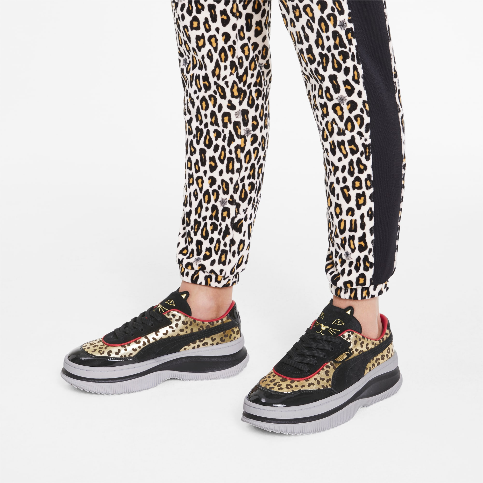 PUMA x CHARLOTTE OLYMPIA Deva Damen Sneaker | Puma Black