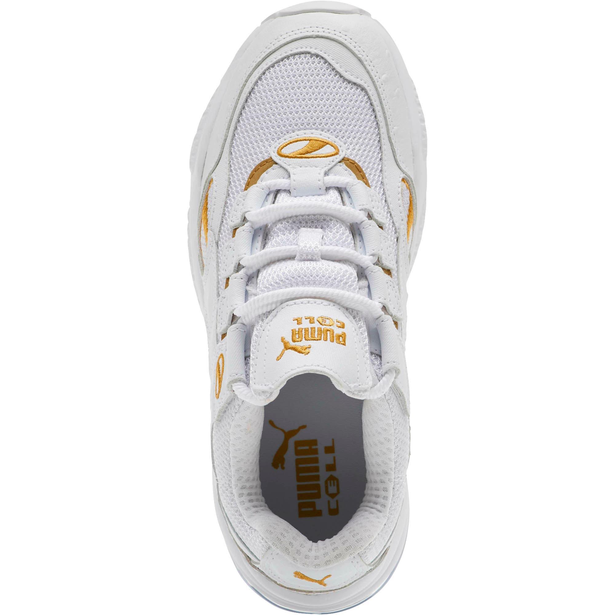 Thumbnail 5 of CELL Venom WO Women's Sneakers, Puma White-Puma Team Gold, medium