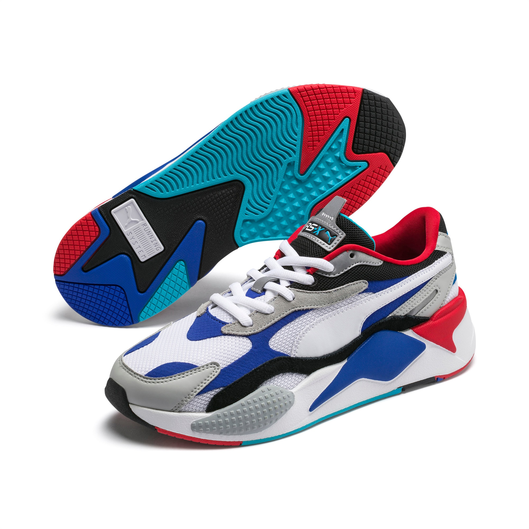 PUMA Rs X Puzzle Trainers in WhiteLava
