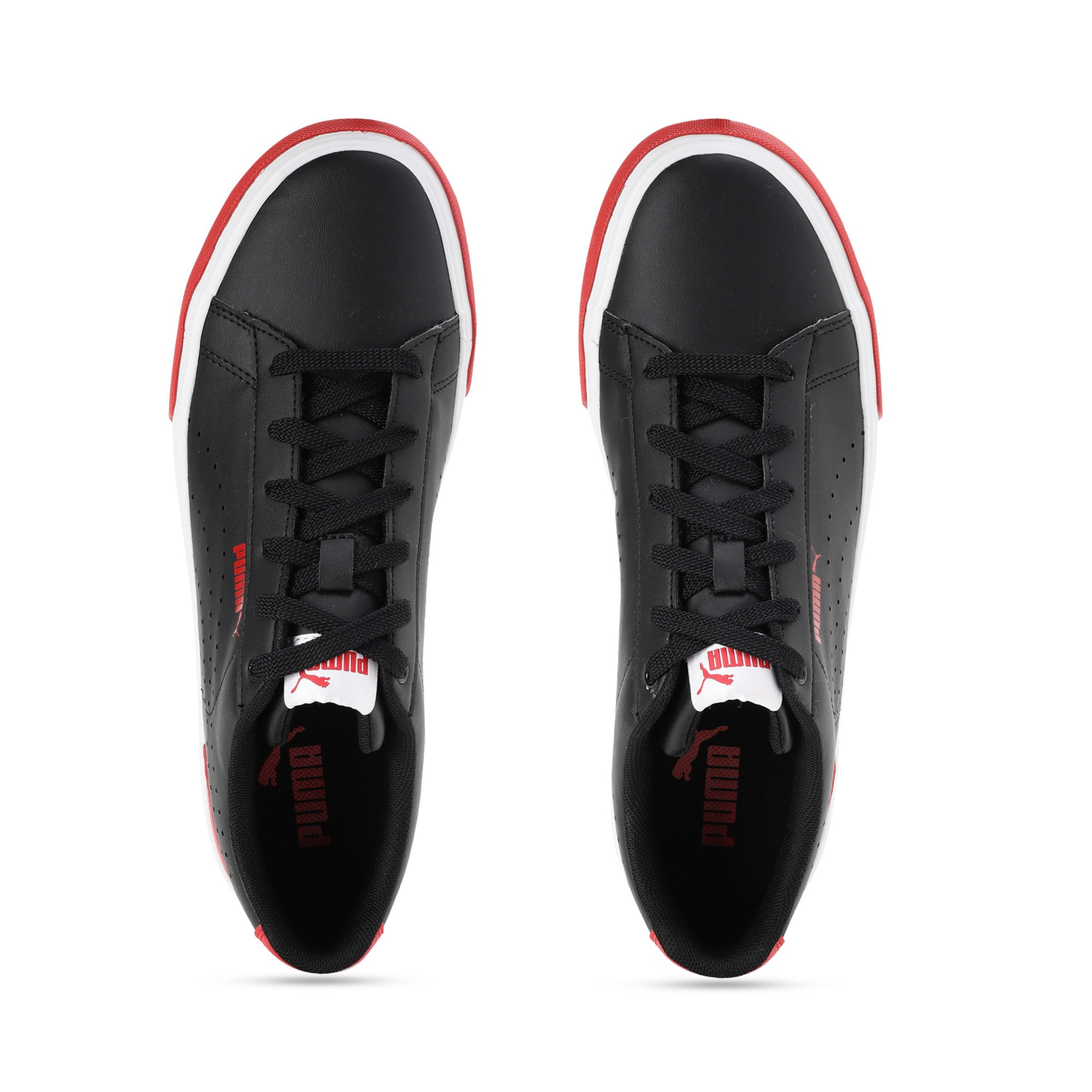 Thumbnail 4 of Flight X 2 IDP, Puma Black-High Risk Red, medium-IND