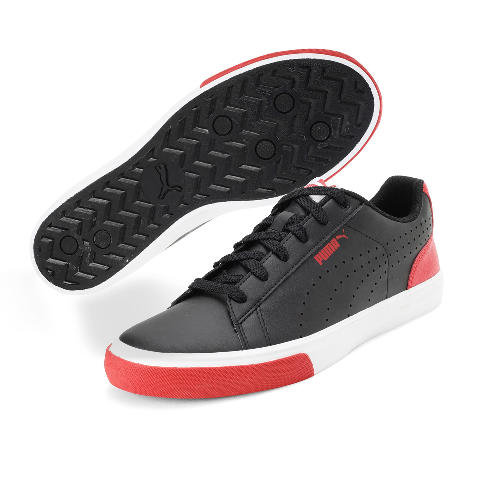 Thumbnail 6 of Flight X 2 IDP, Puma Black-High Risk Red, medium-IND