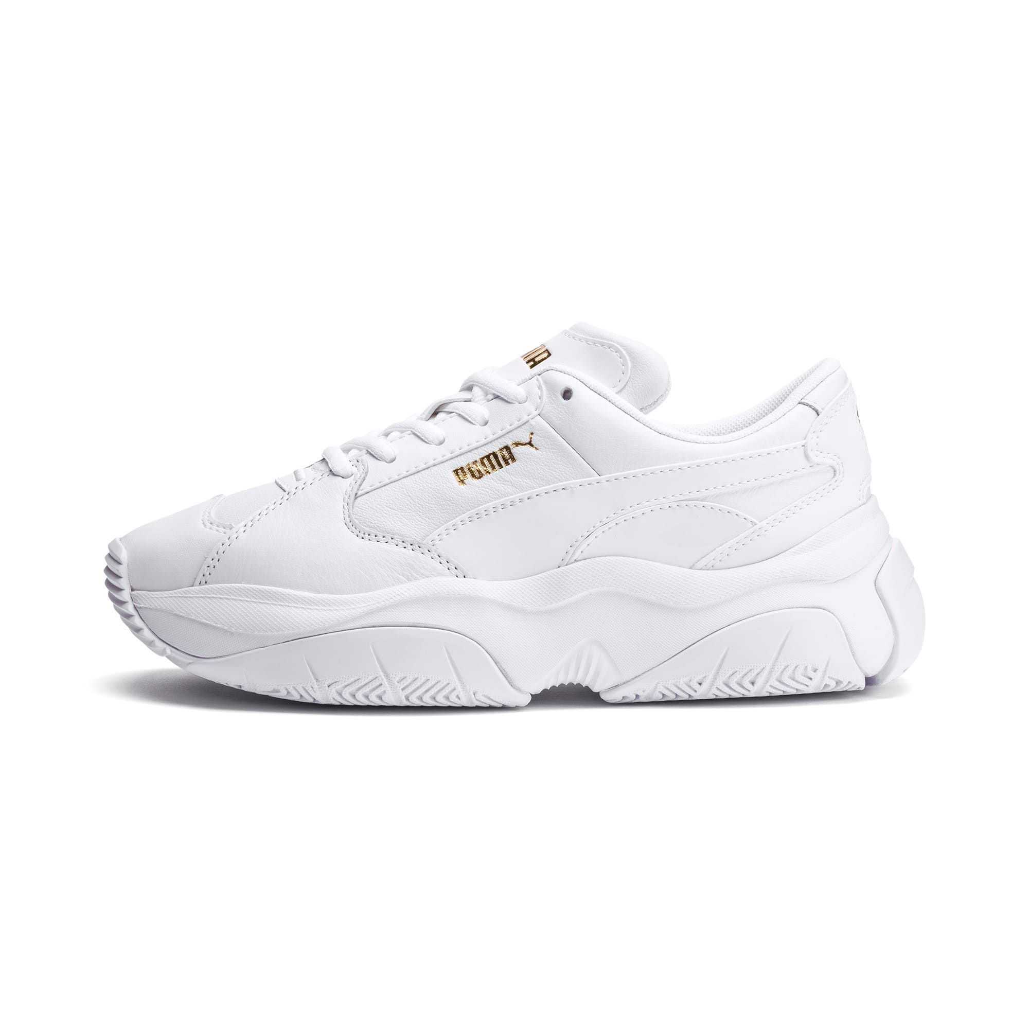 Thumbnail 1 of STORM.Y Leather Women's Trainers, Puma White, medium