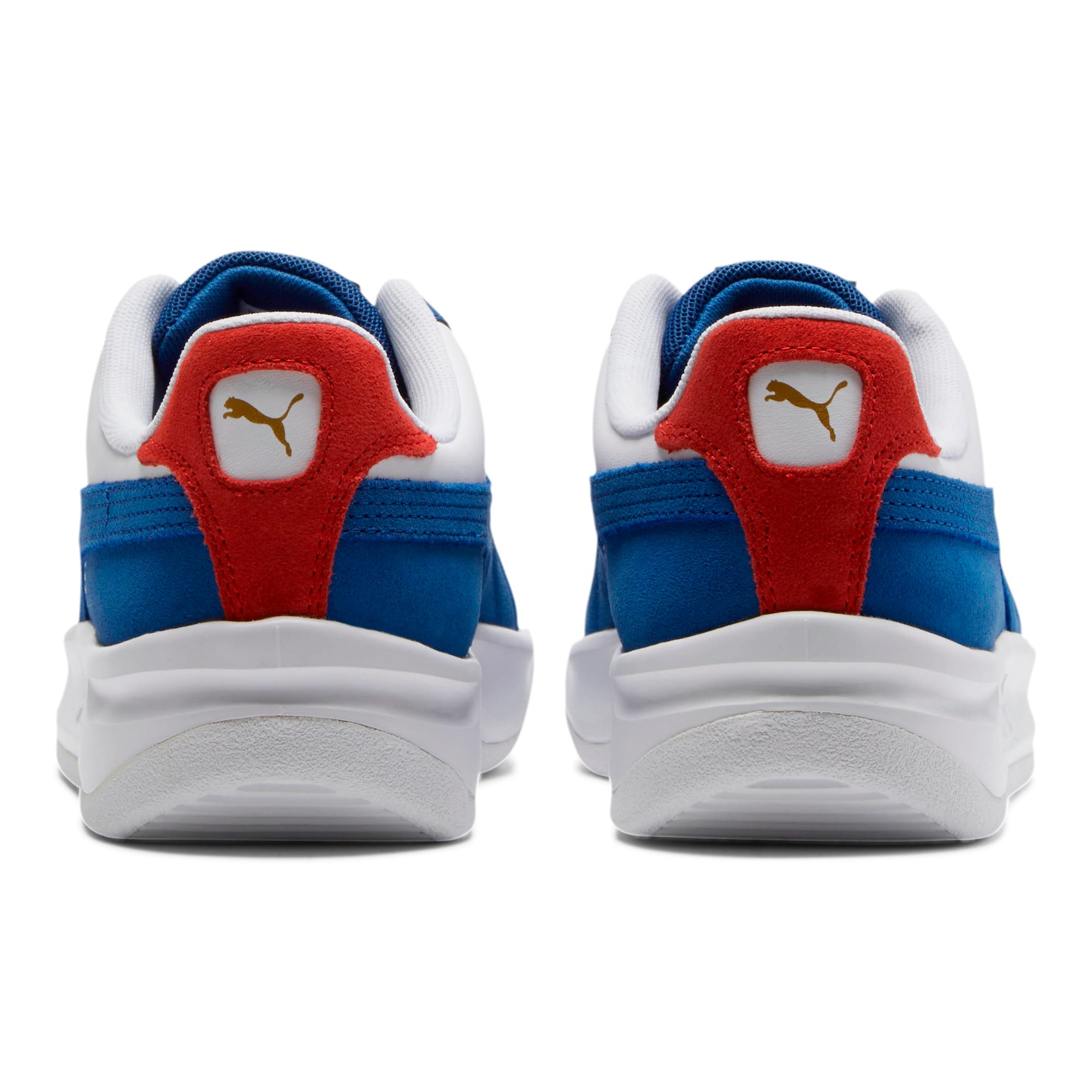 Thumbnail 3 of GV Special + Primary Sneakers, Gy Blue- White-High Risk Red, medium