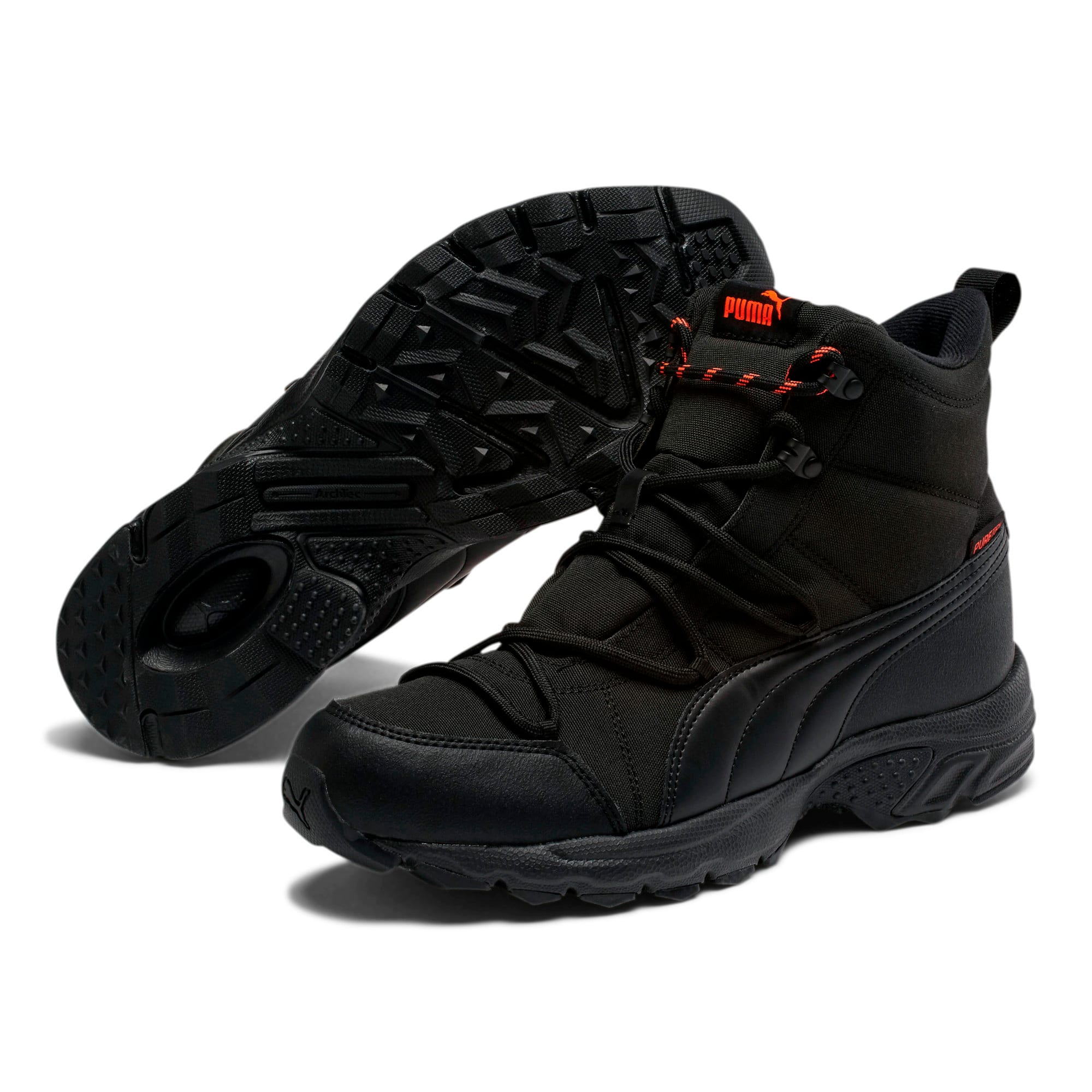 Thumbnail 2 of Axis Trail Winter Boots, Black-Nrgy Red-Whisper White, medium