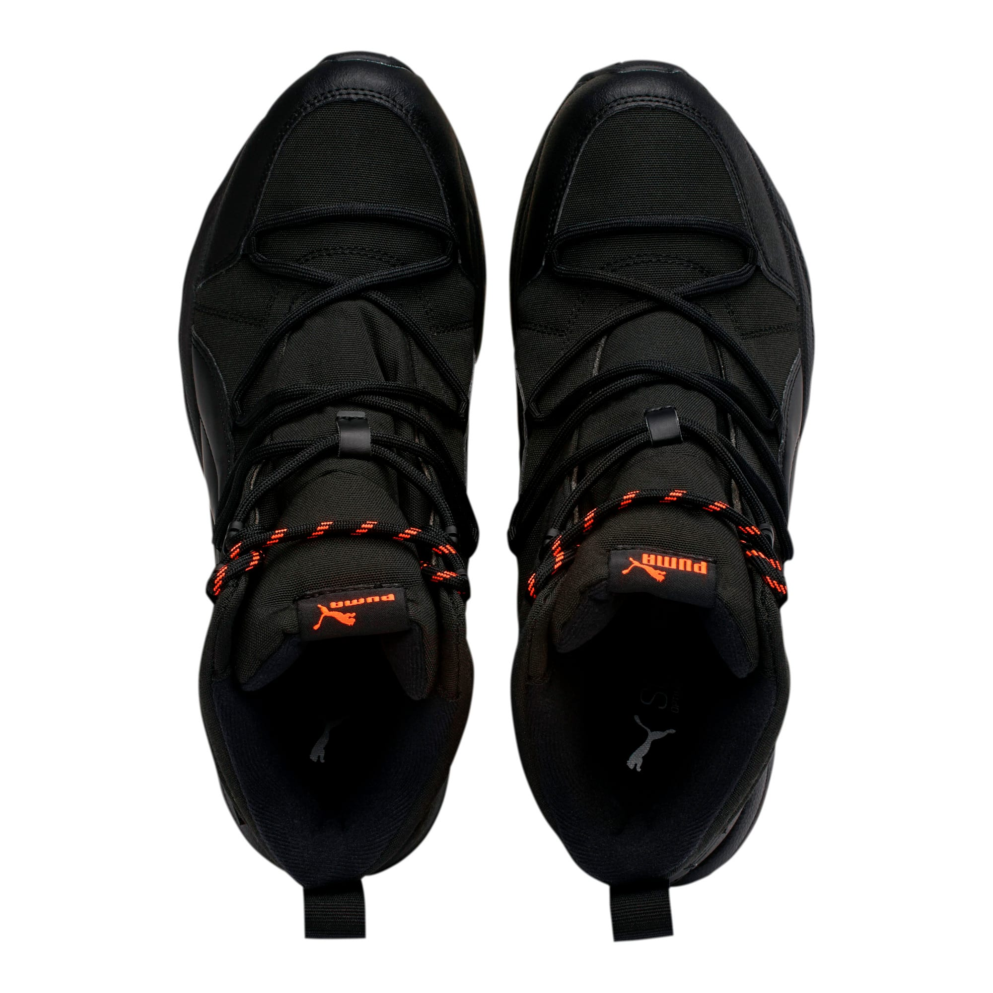 Thumbnail 6 of Axis Trail Winter Boots, Black-Nrgy Red-Whisper White, medium
