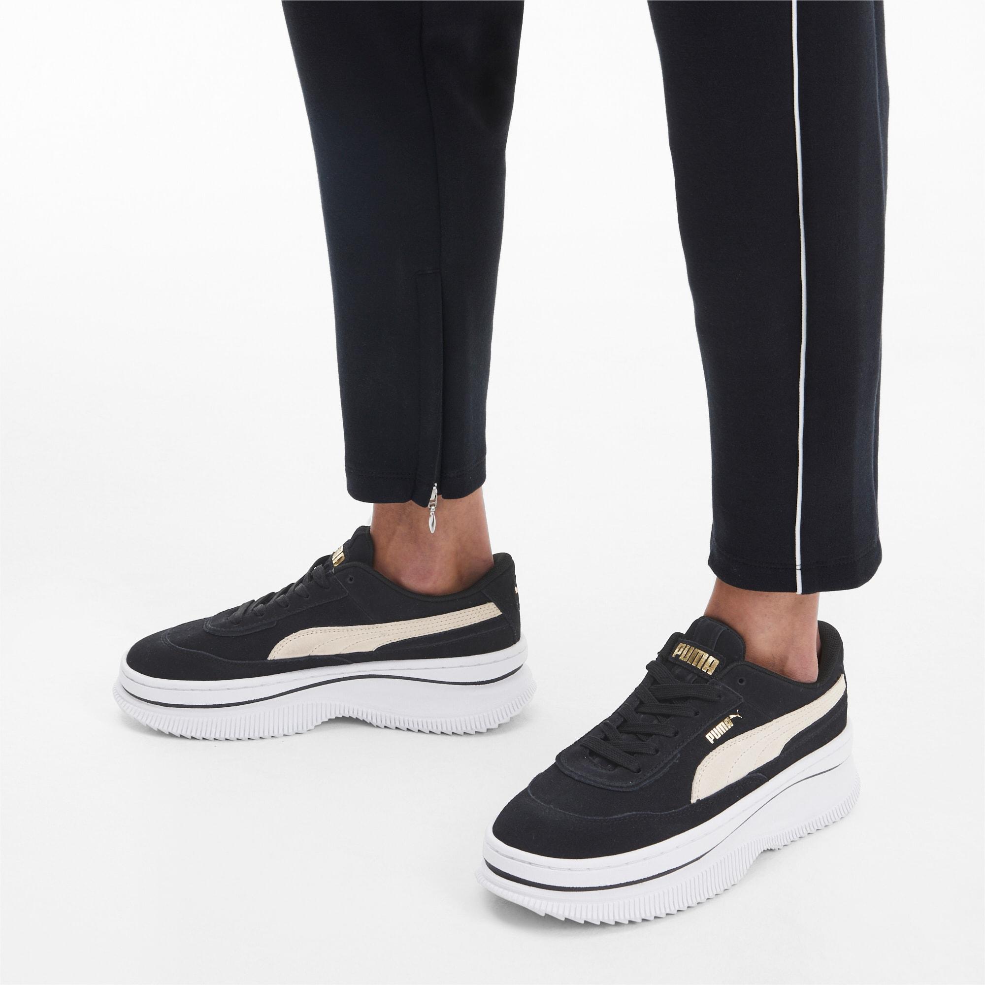 Puma Schuhe Deva Suede W Marshmallow Black 40,0 | GALERIA