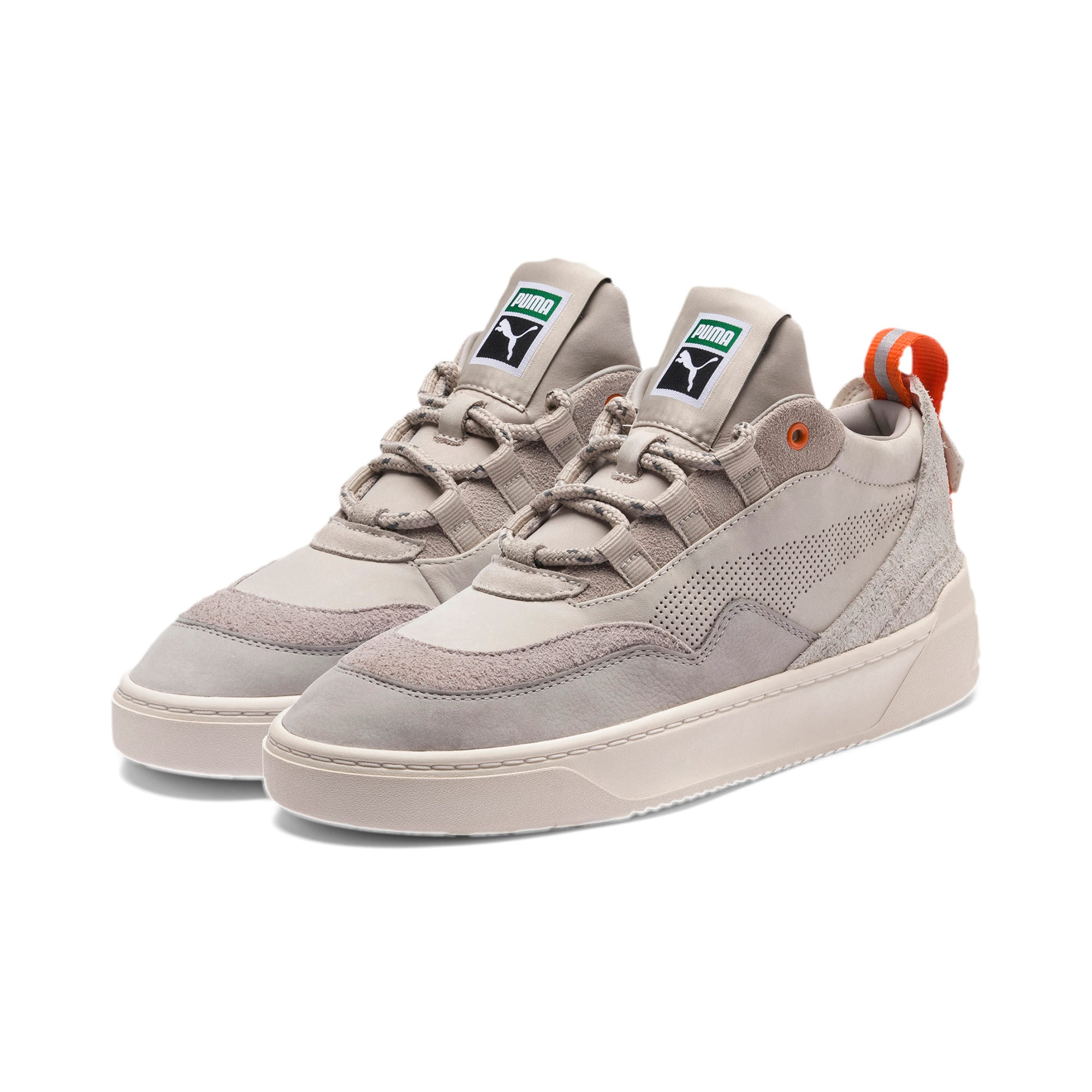 Thumbnail 2 of Cali Zero Demi Beige Trainers, Satellite-Silver Gray, medium