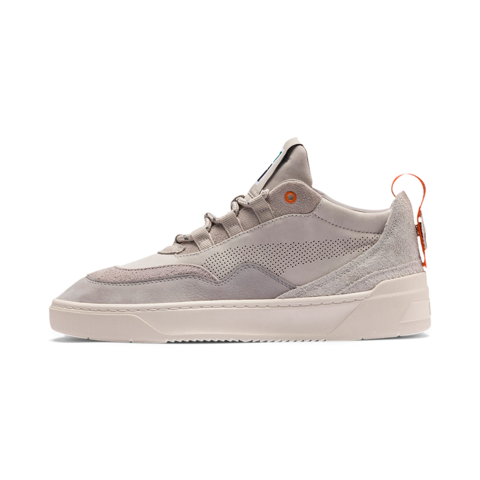 Thumbnail 1 of Cali Zero Demi Beige Trainers, Satellite-Silver Gray, medium