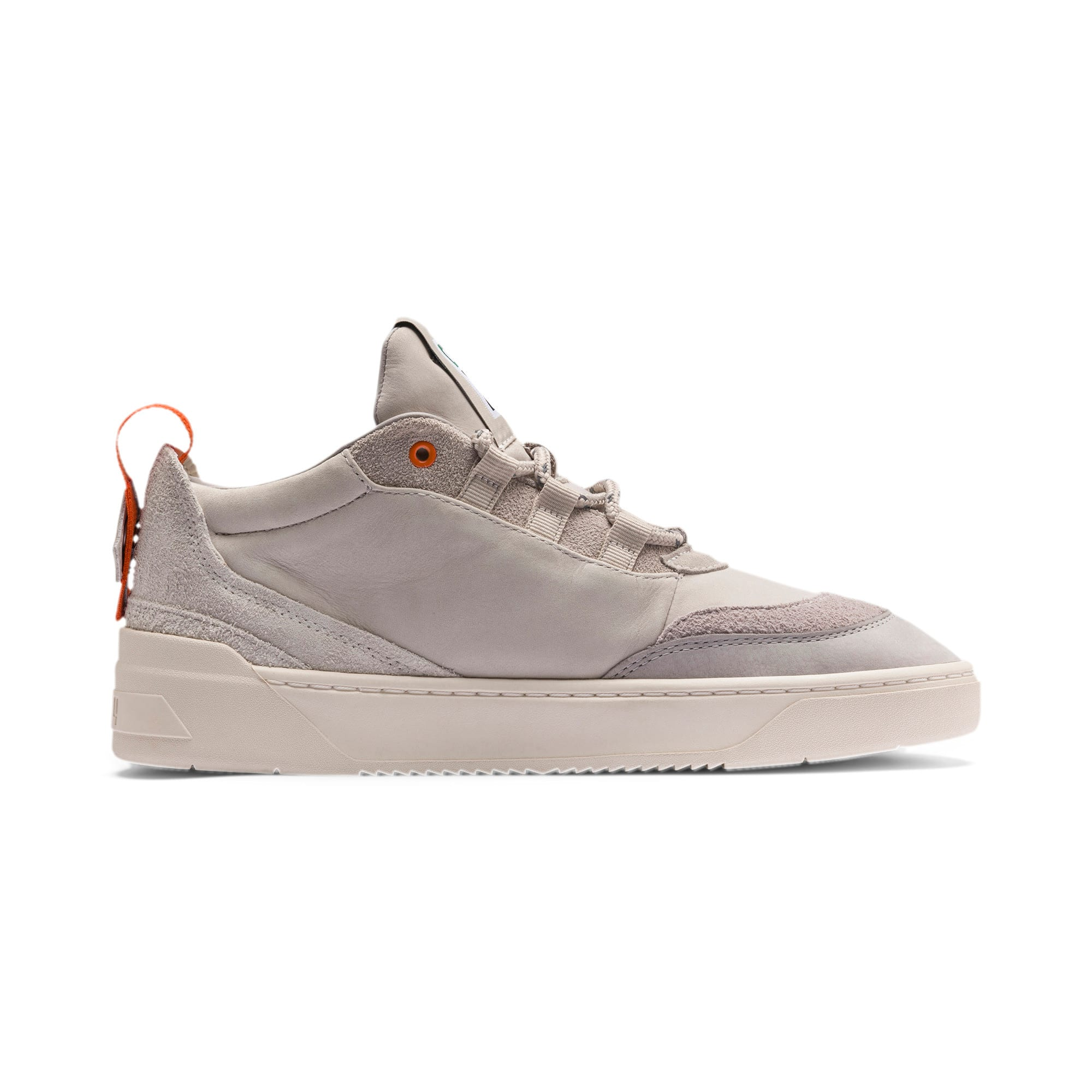 Thumbnail 5 of Cali Zero Demi Beige Trainers, Satellite-Silver Gray, medium