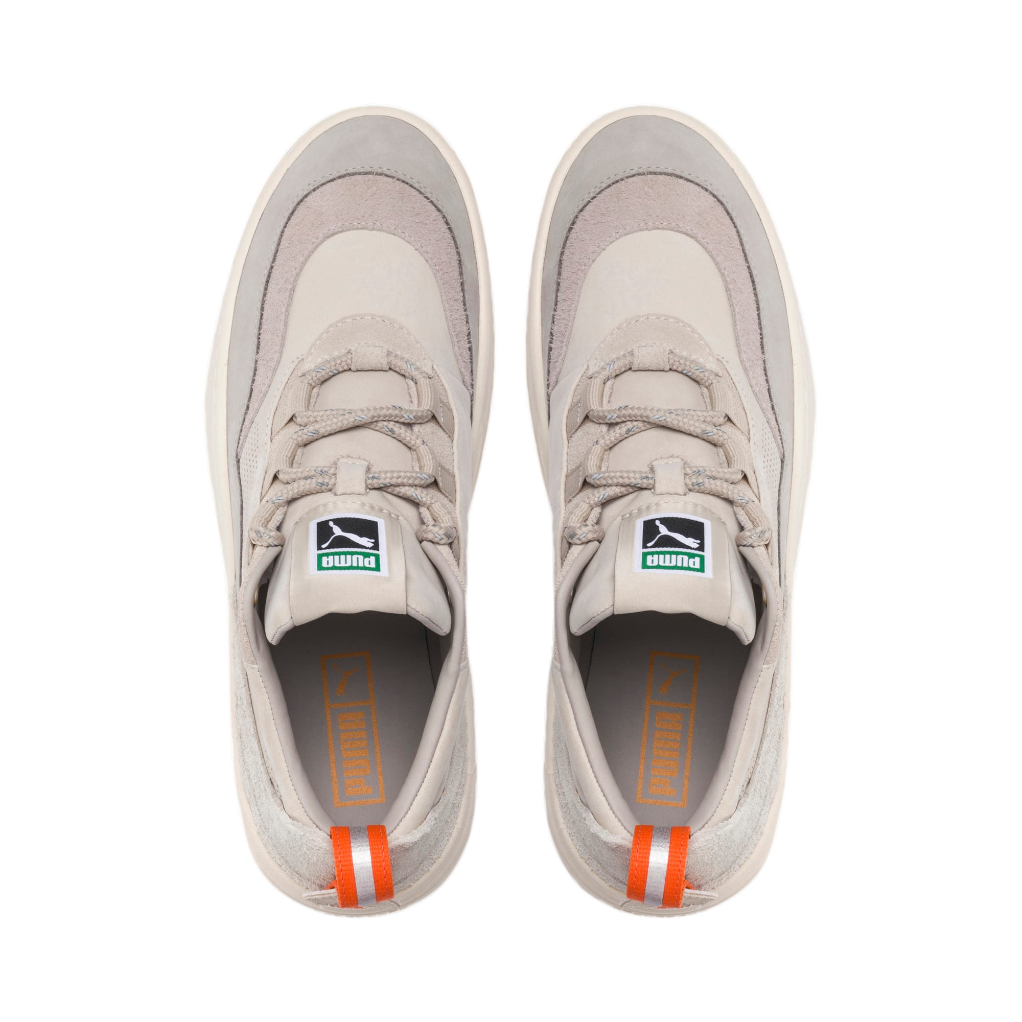 Thumbnail 6 of Cali Zero Demi Beige Trainers, Satellite-Silver Gray, medium