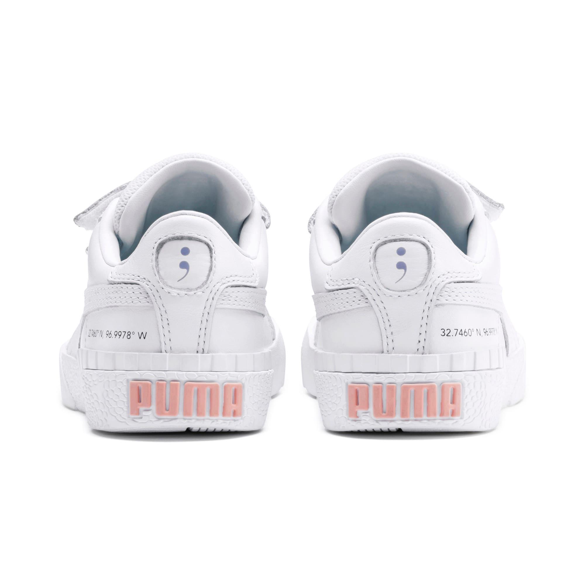 Imagen en miniatura 3 de Zapatillas de niño Cali PUMA x SELENA GOMEZ, Puma White-Puma White, mediana
