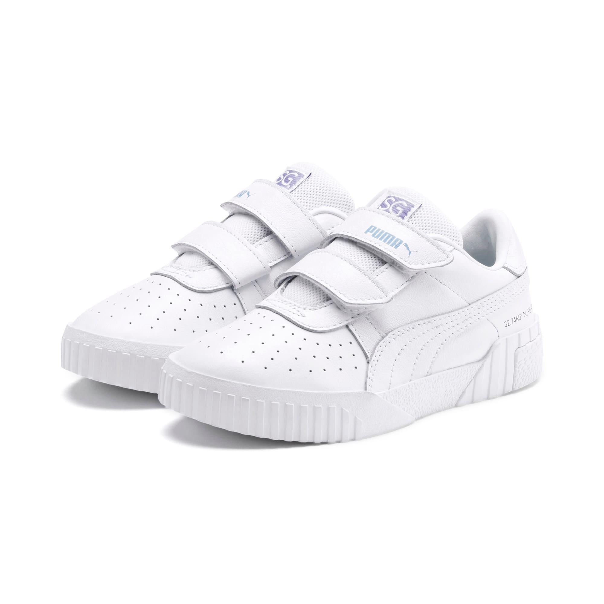 Imagen en miniatura 2 de Zapatillas de niño Cali PUMA x SELENA GOMEZ, Puma White-Puma White, mediana