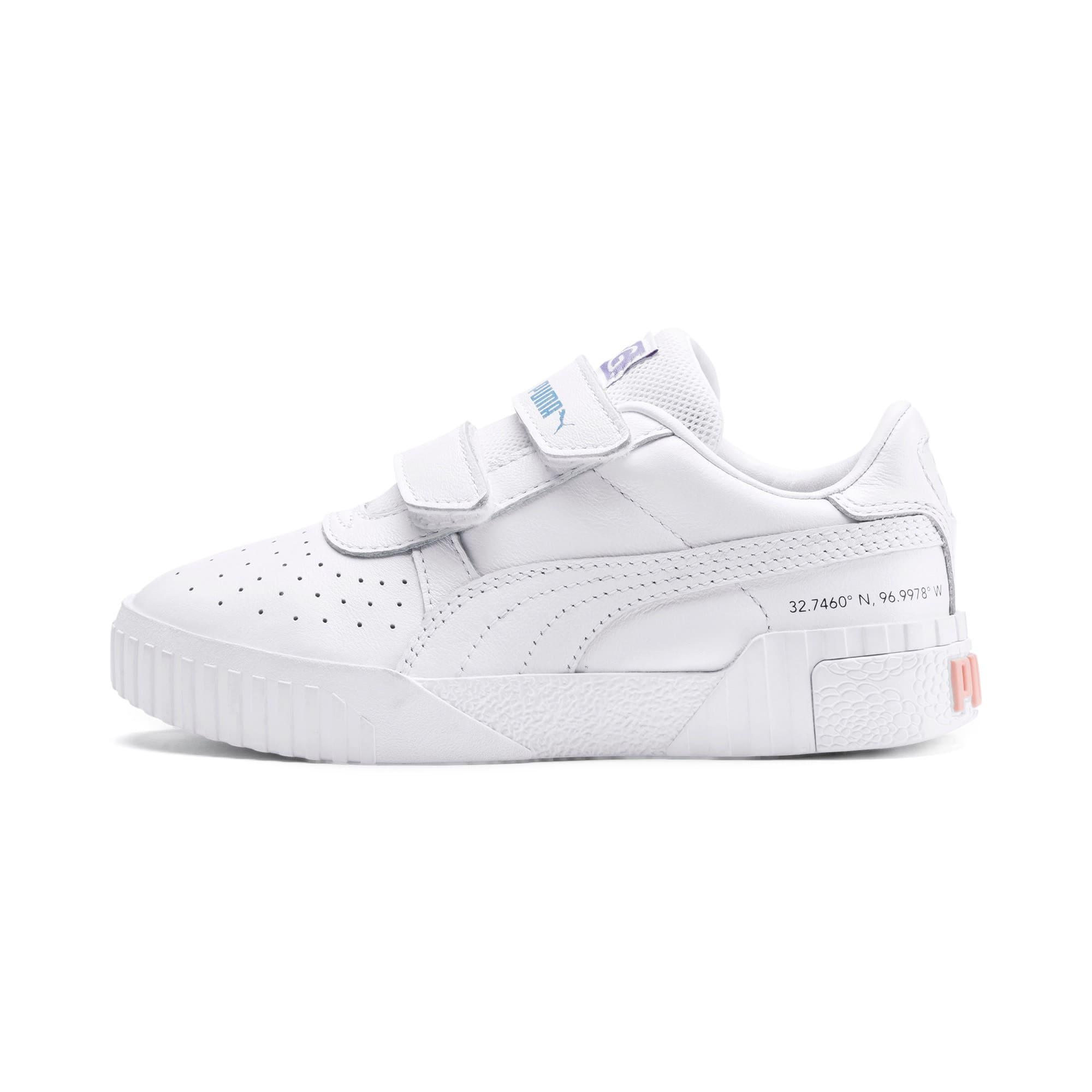 Imagen en miniatura 1 de Zapatillas de niño Cali PUMA x SELENA GOMEZ, Puma White-Puma White, mediana