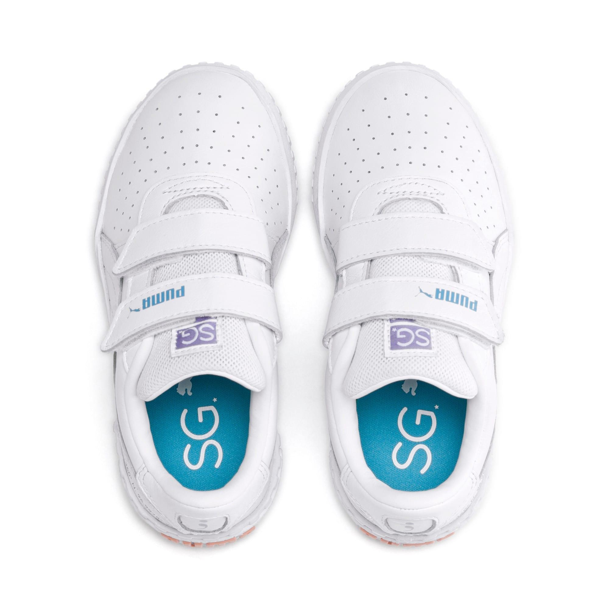 Imagen en miniatura 6 de Zapatillas de niño Cali PUMA x SELENA GOMEZ, Puma White-Puma White, mediana