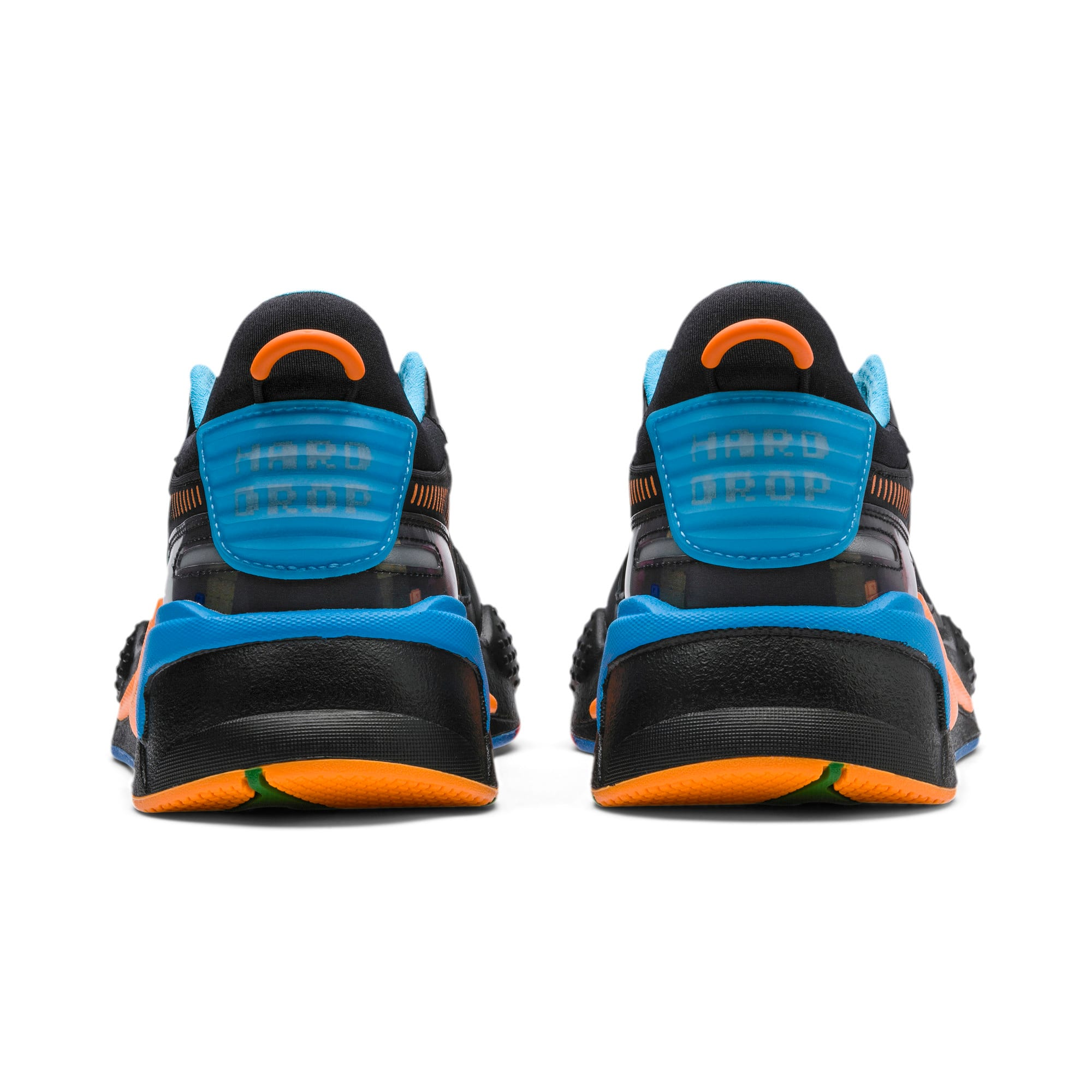 Thumbnail 3 of PUMA x TETRIS RS-X スニーカー, Puma Black-Luminous Blue, medium-JPN