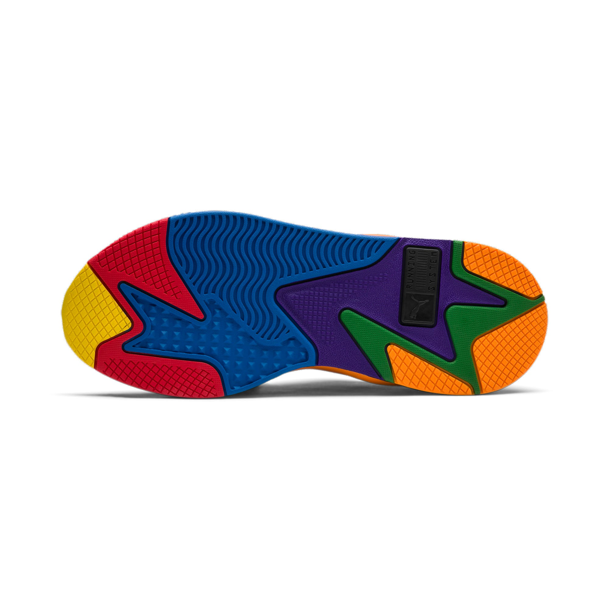 Thumbnail 4 of PUMA x TETRIS RS-X スニーカー, Puma Black-Luminous Blue, medium-JPN