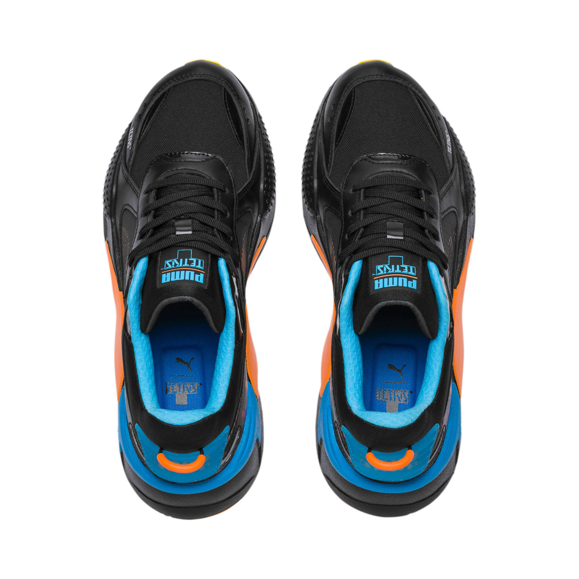 Thumbnail 6 of PUMA x TETRIS RS-X スニーカー, Puma Black-Luminous Blue, medium-JPN