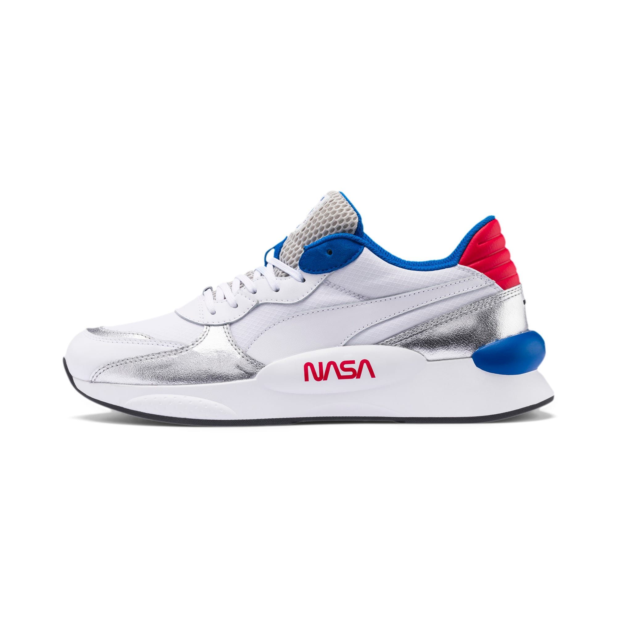 RS 9.8 Space Explorer Sneaker, Puma White-Puma Silver, large