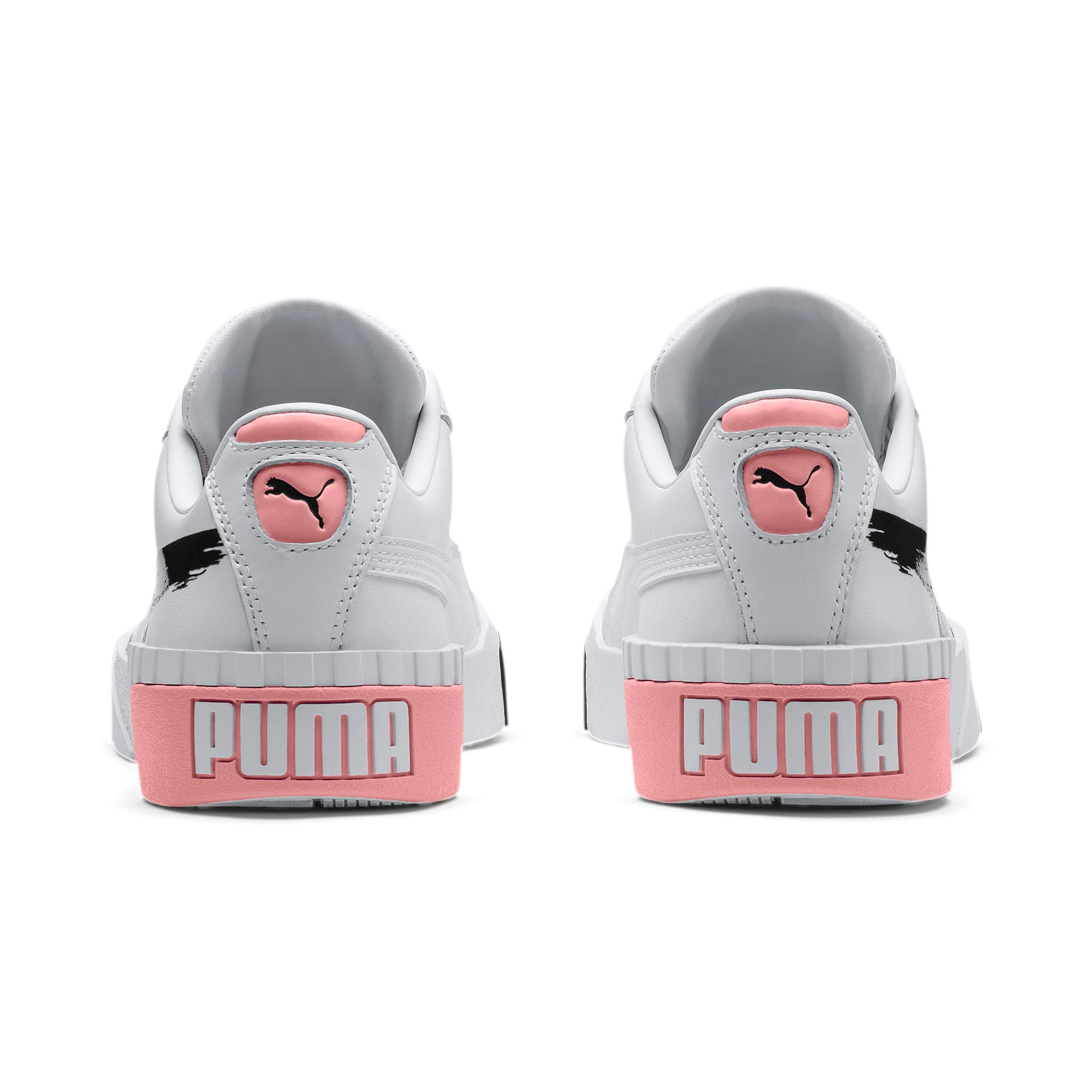 Thumbnail 3 of PUMA x MAYBELLINE Cali Women's Trainers, Puma White-Puma Black, medium
