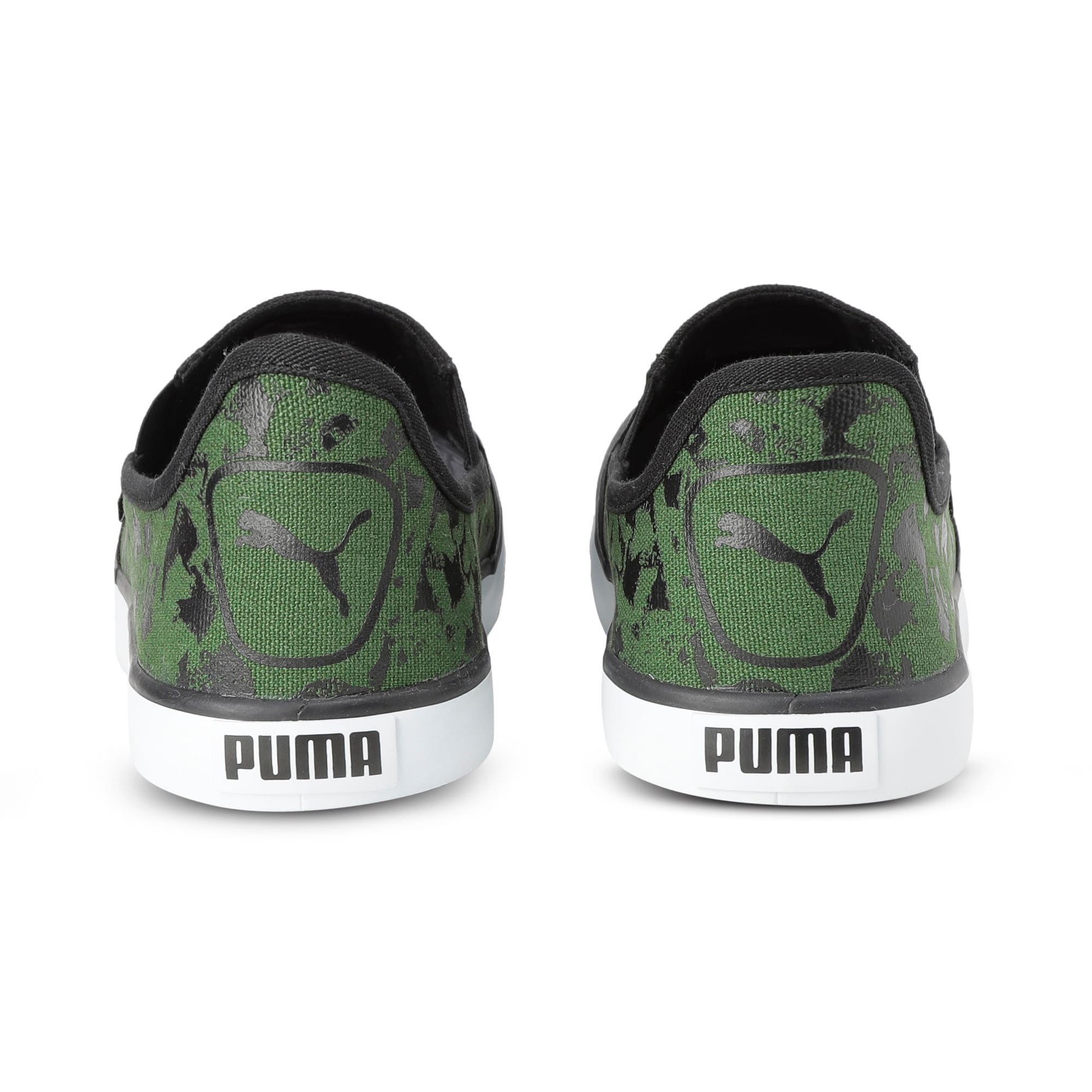 Thumbnail 3 of Auxius V2 IDP, Puma Black-Garden Green, medium-IND