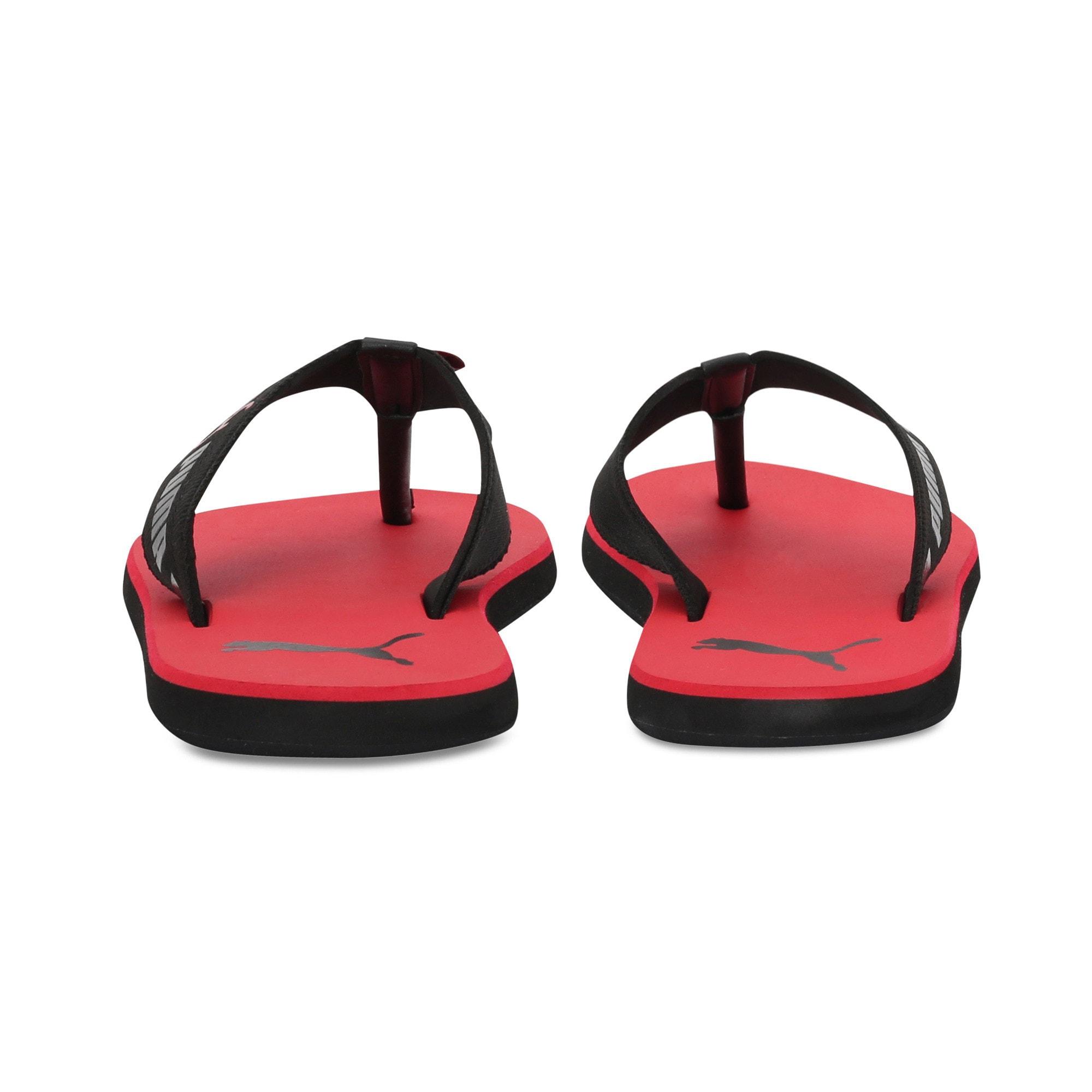Thumbnail 3 of Breeze one8 GU Men's Sandals, High Risk Red-Puma Black, medium-IND