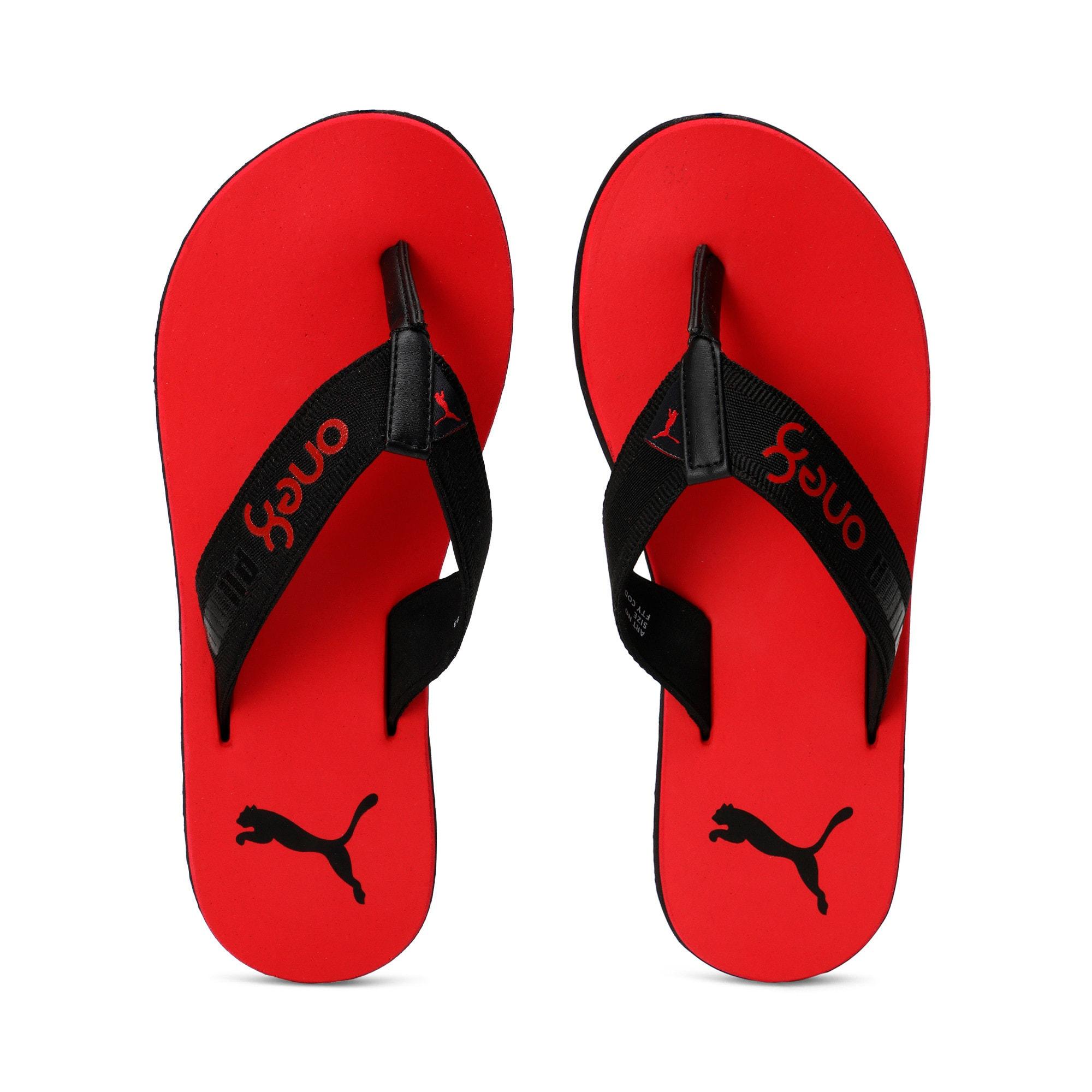 Thumbnail 6 of Breeze one8 GU Men's Sandals, High Risk Red-Puma Black, medium-IND