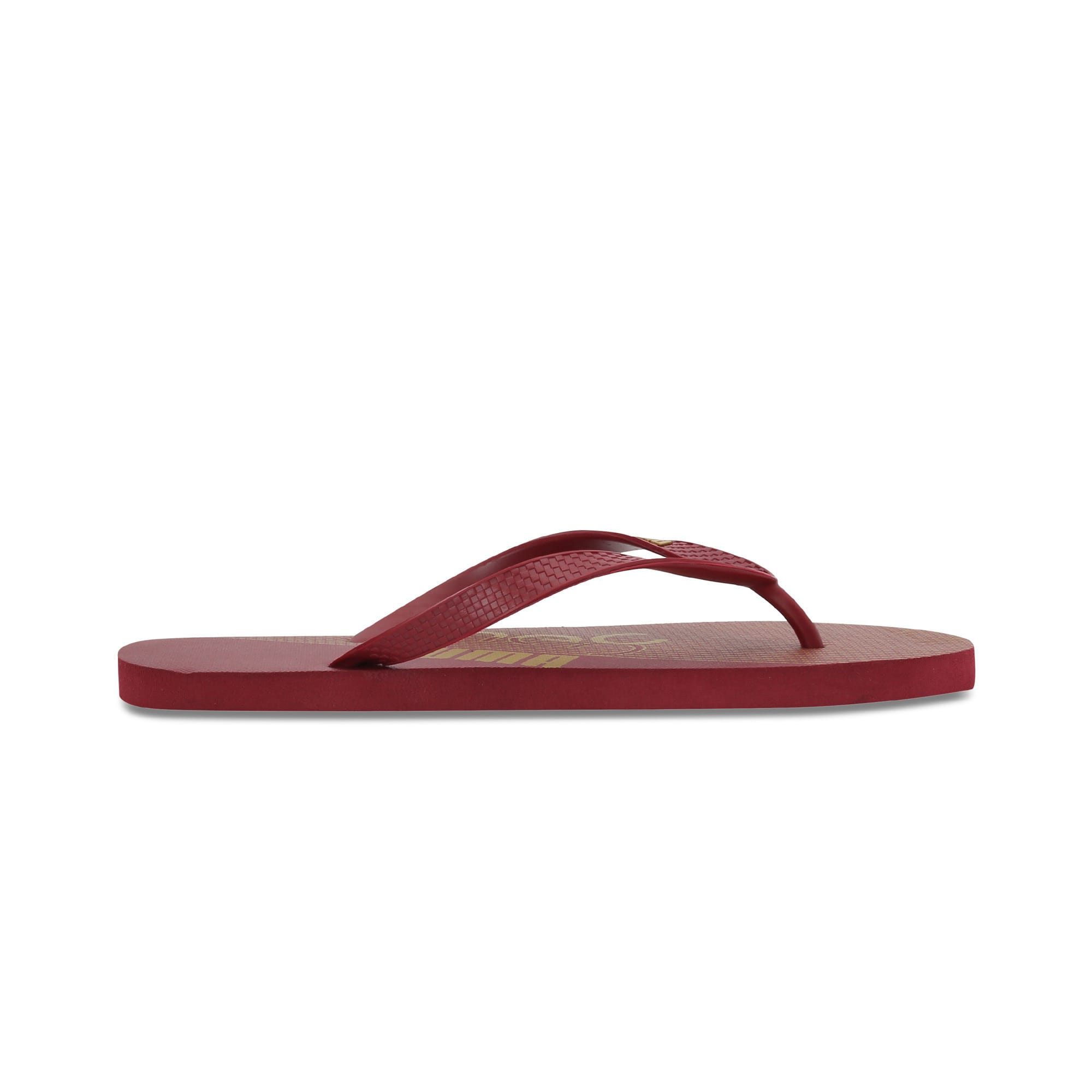 Thumbnail 5 of one8 FF IDP Unisex Flip Flops, Rhubarb-Puma Team Gold, medium-IND