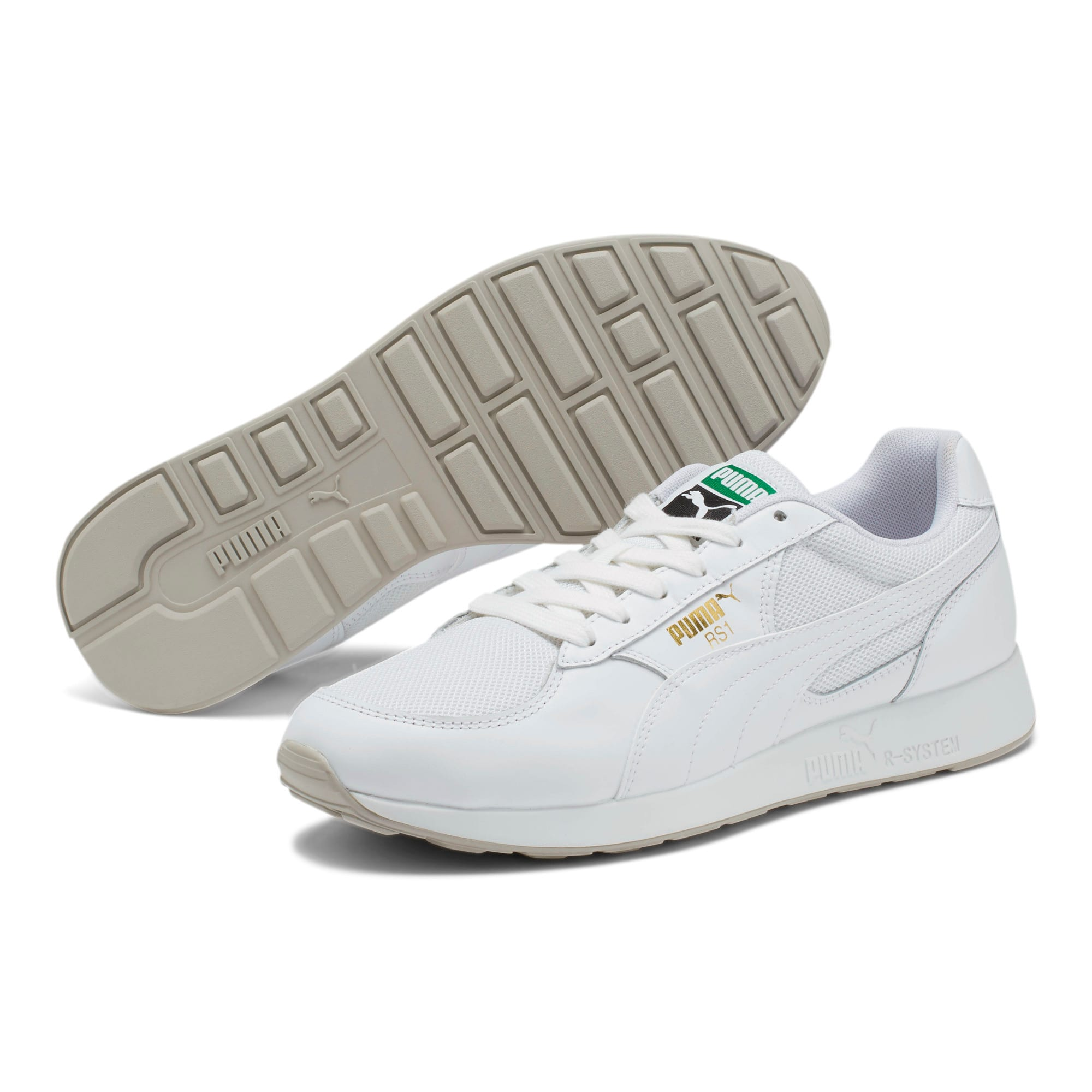 Thumbnail 2 of RS-1 OG CLONE Sneakers, Puma White-Gray Violet, medium