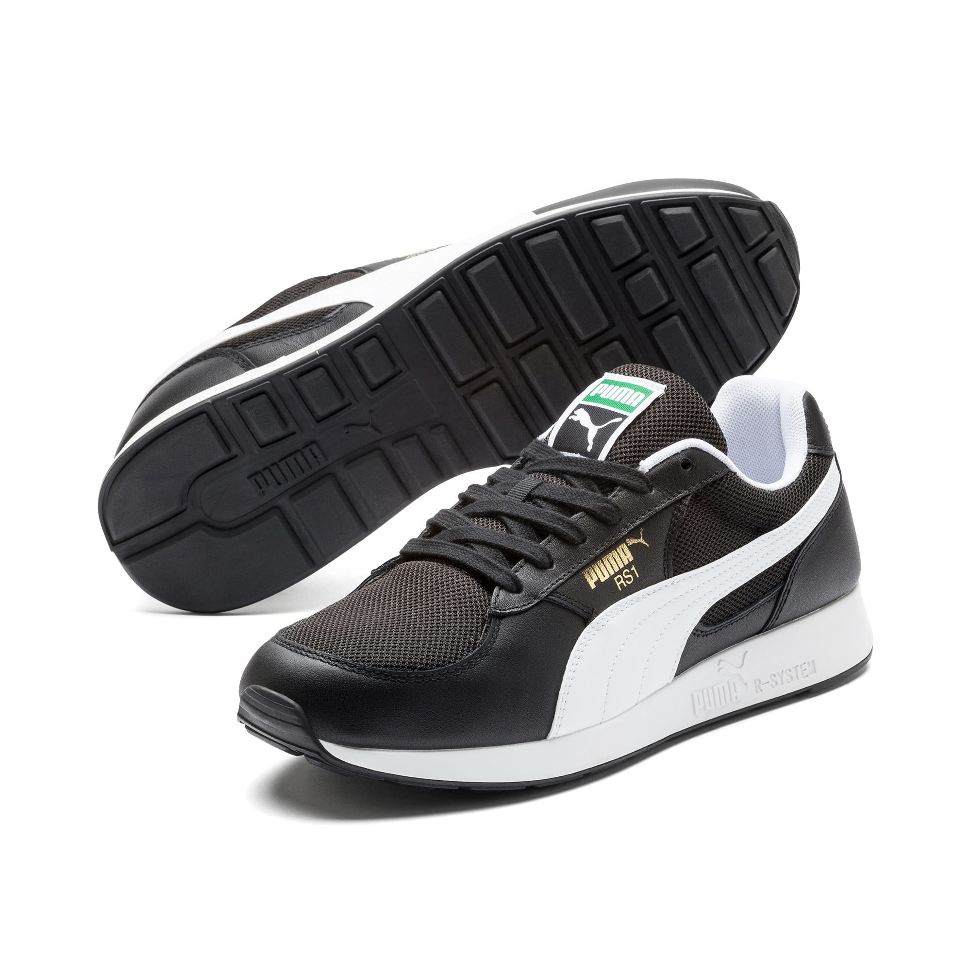 Thumbnail 2 of RS-1 OG Trainers, Puma Black-CASTLEROCK, medium