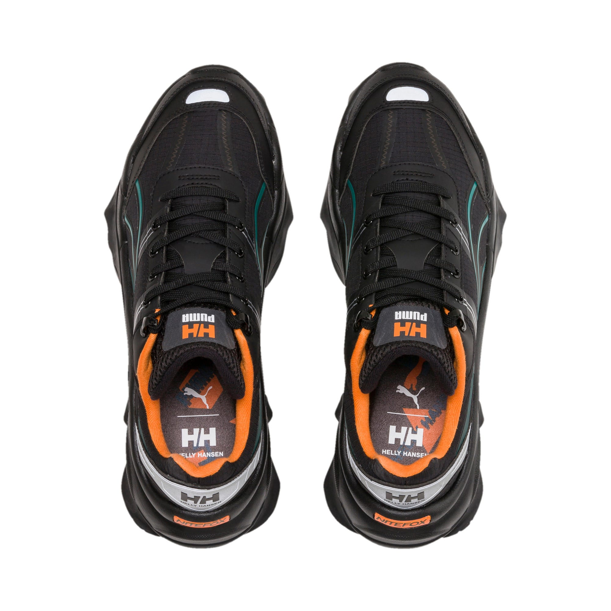 Thumbnail 6 of PUMA x HELLY HANSEN Nitefox Sneaker, Puma Black, medium