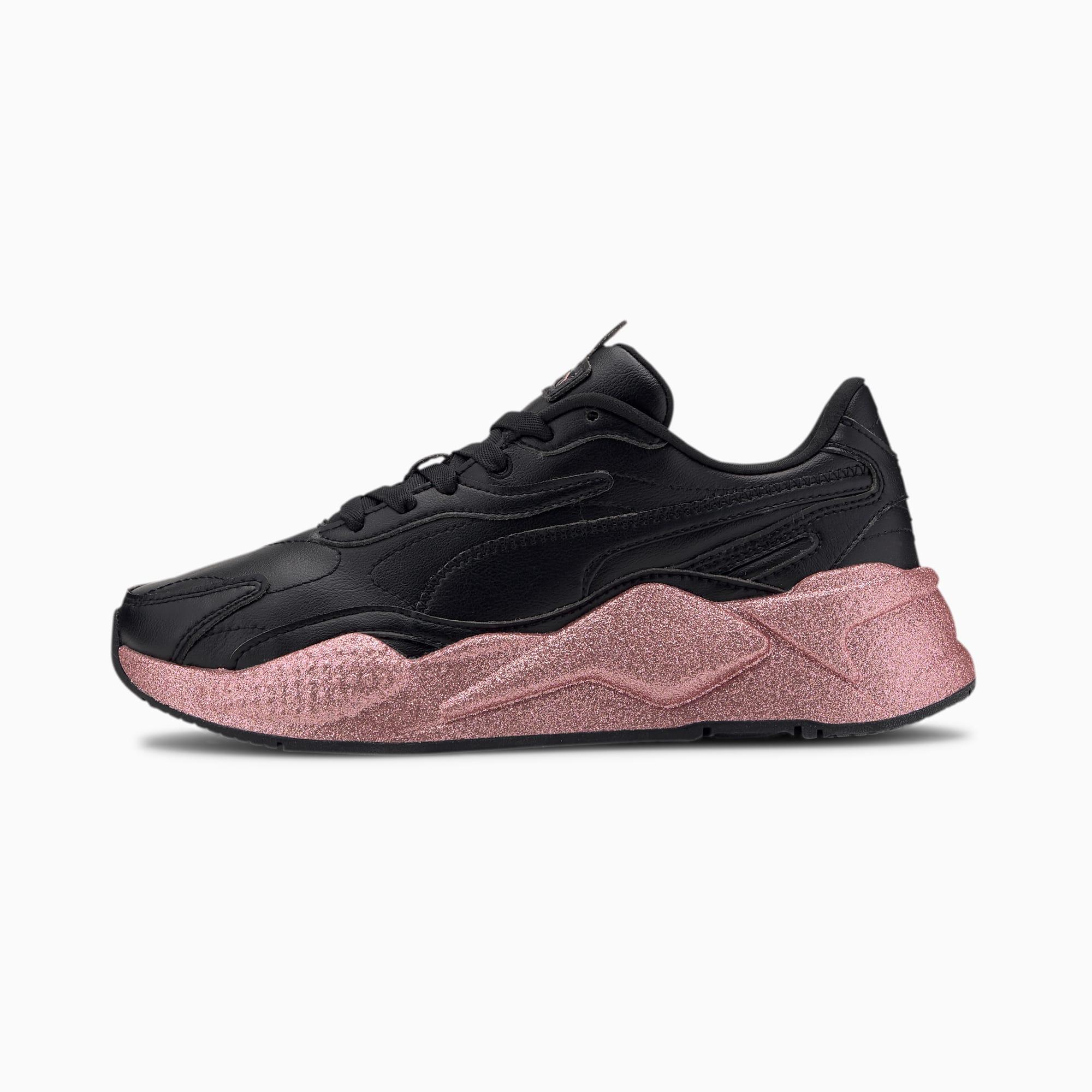 RS X Glitz Damen Sneaker | Puma Black | PUMA Neue Styles