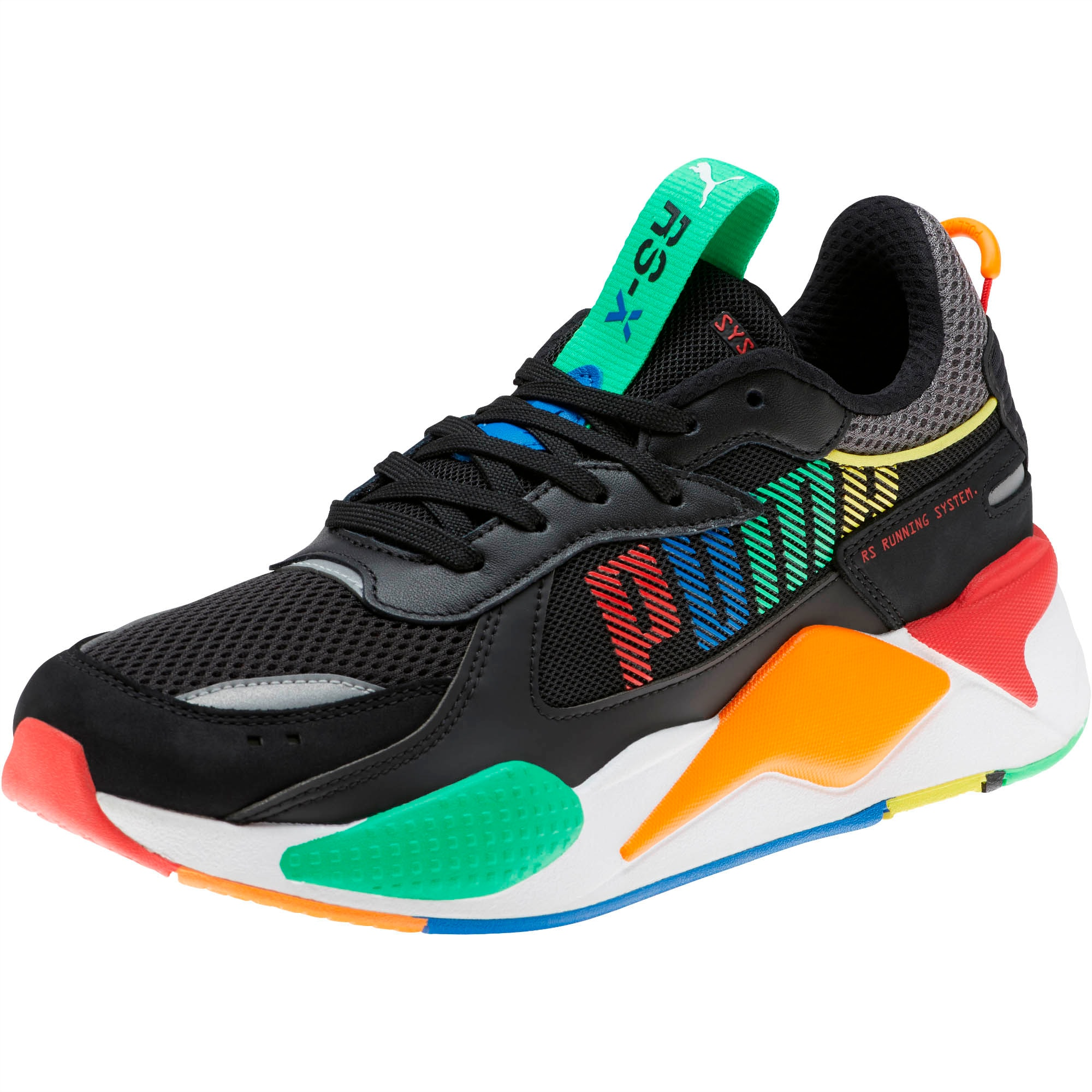 RS-X Bold Trainers, Blk-ANDEANTOUCAN-OraPopsicle, large-SEA