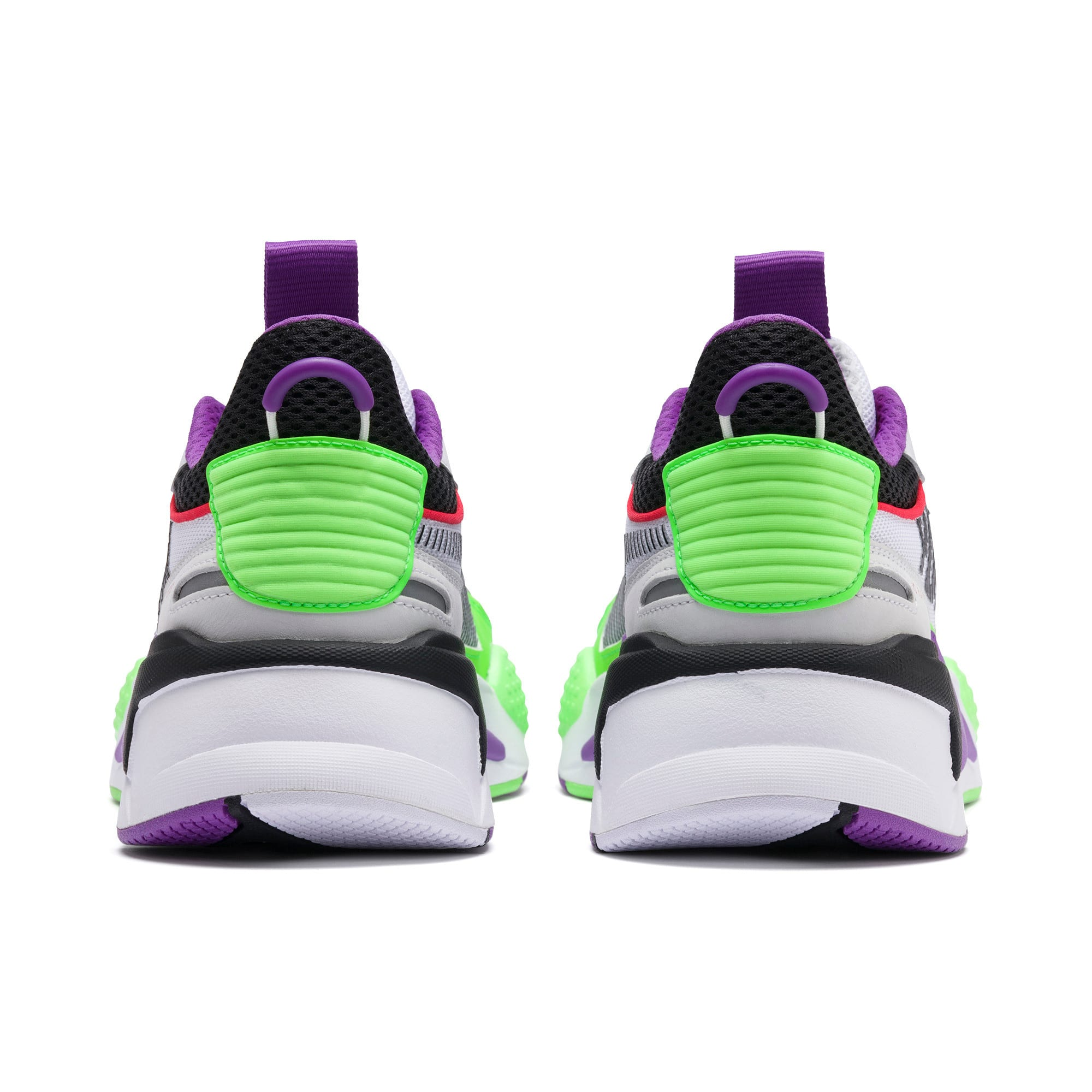 Thumbnail 3 of RS-X Bold Trainers, PWhite-Gr Gecko-Royal Lilac, medium