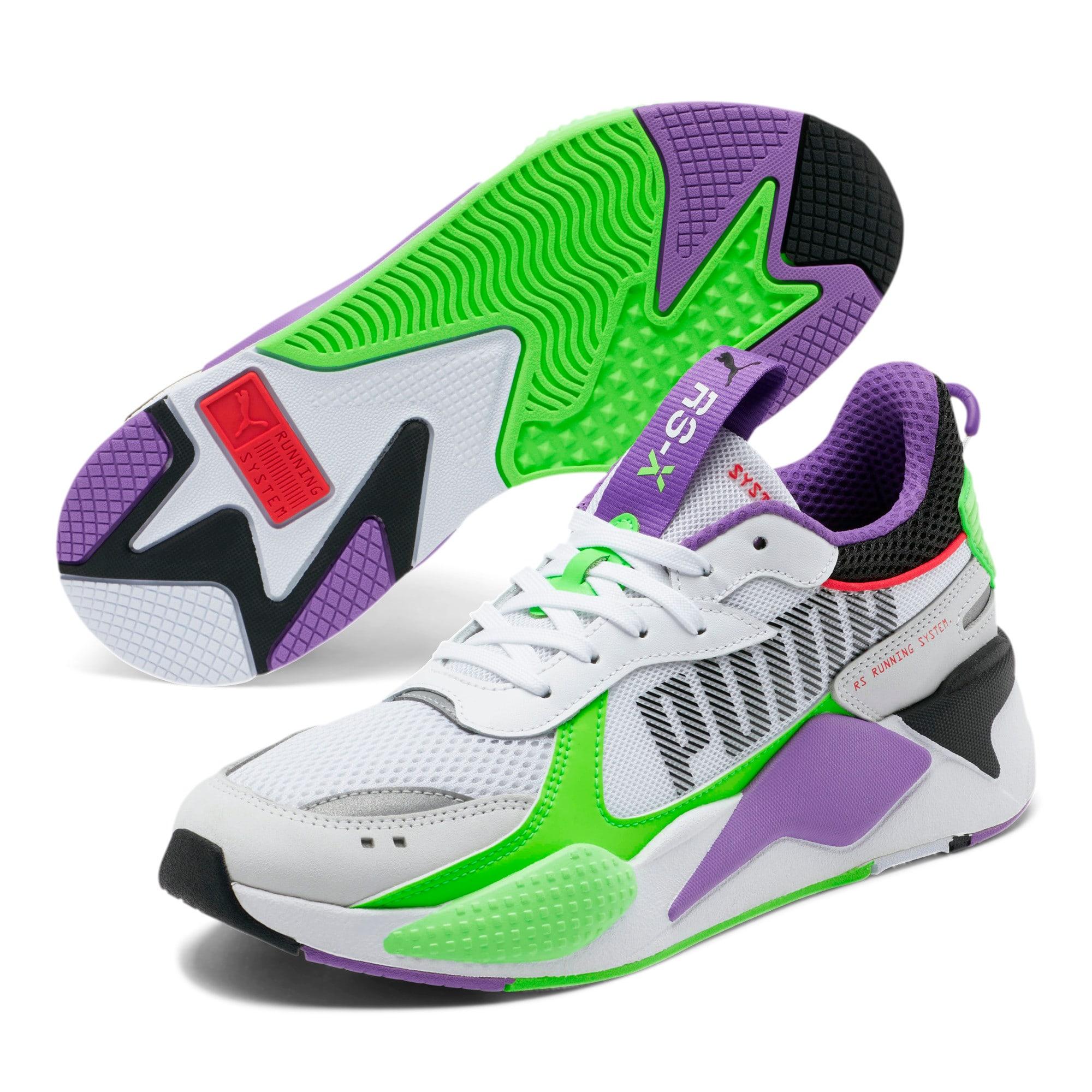 Thumbnail 2 of RS-X Bold Sneakers, PWhite-Gr Gecko-Royal Lilac, medium