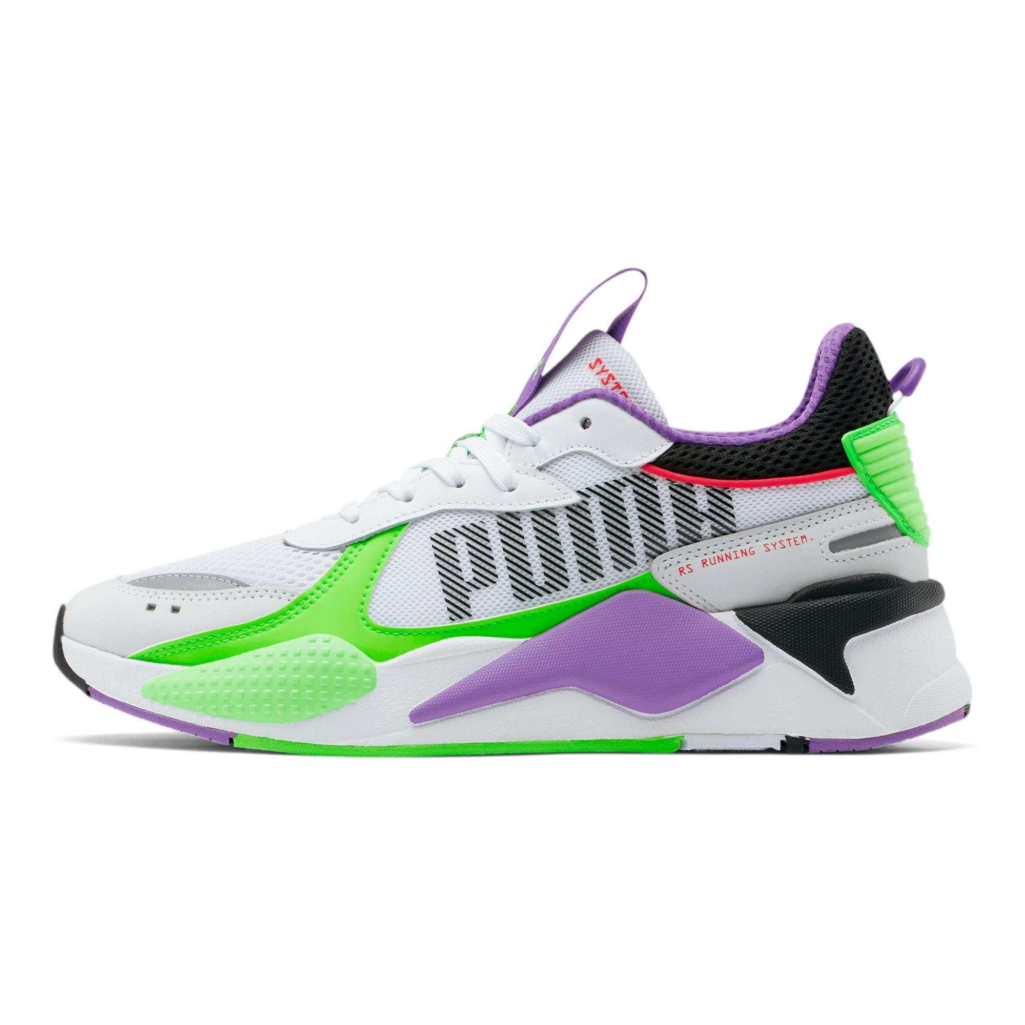 Thumbnail 1 of RS-X Bold Sneakers, PWhite-Gr Gecko-Royal Lilac, medium