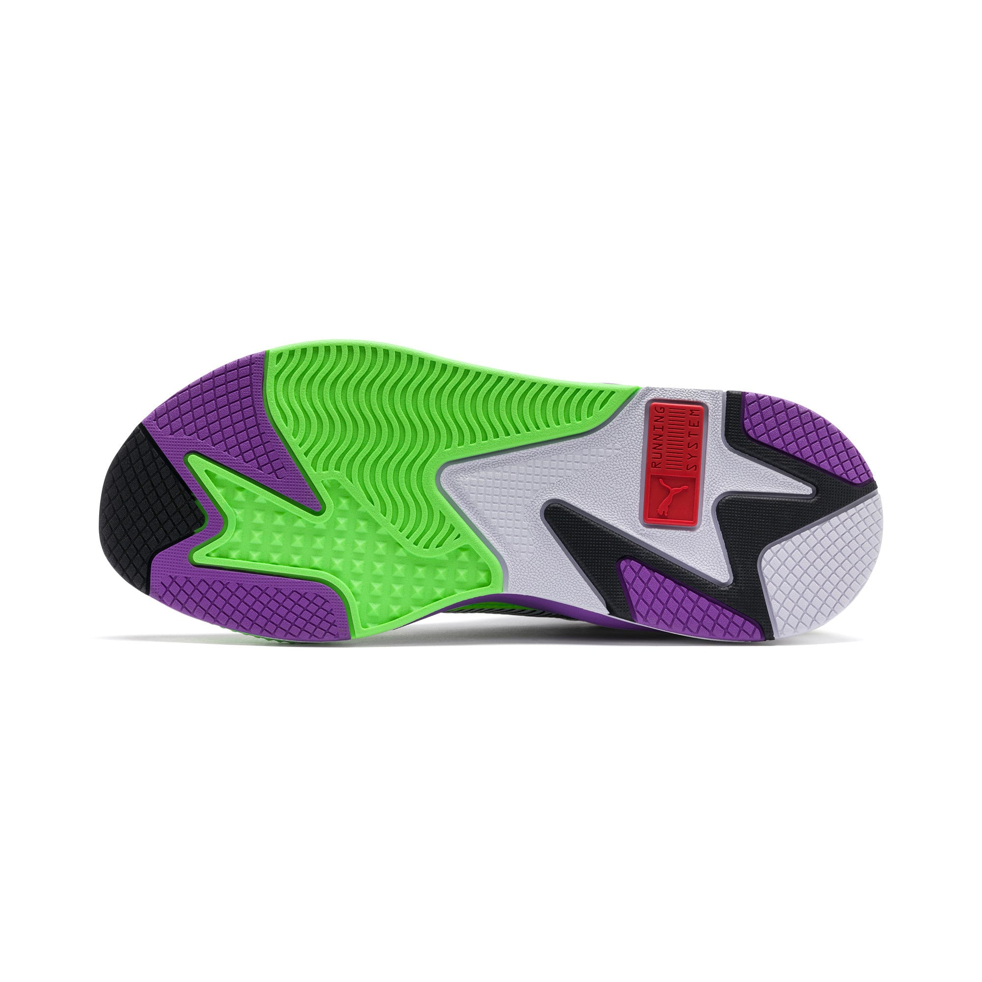 Thumbnail 4 of RS-X Bold Trainers, PWhite-Gr Gecko-Royal Lilac, medium