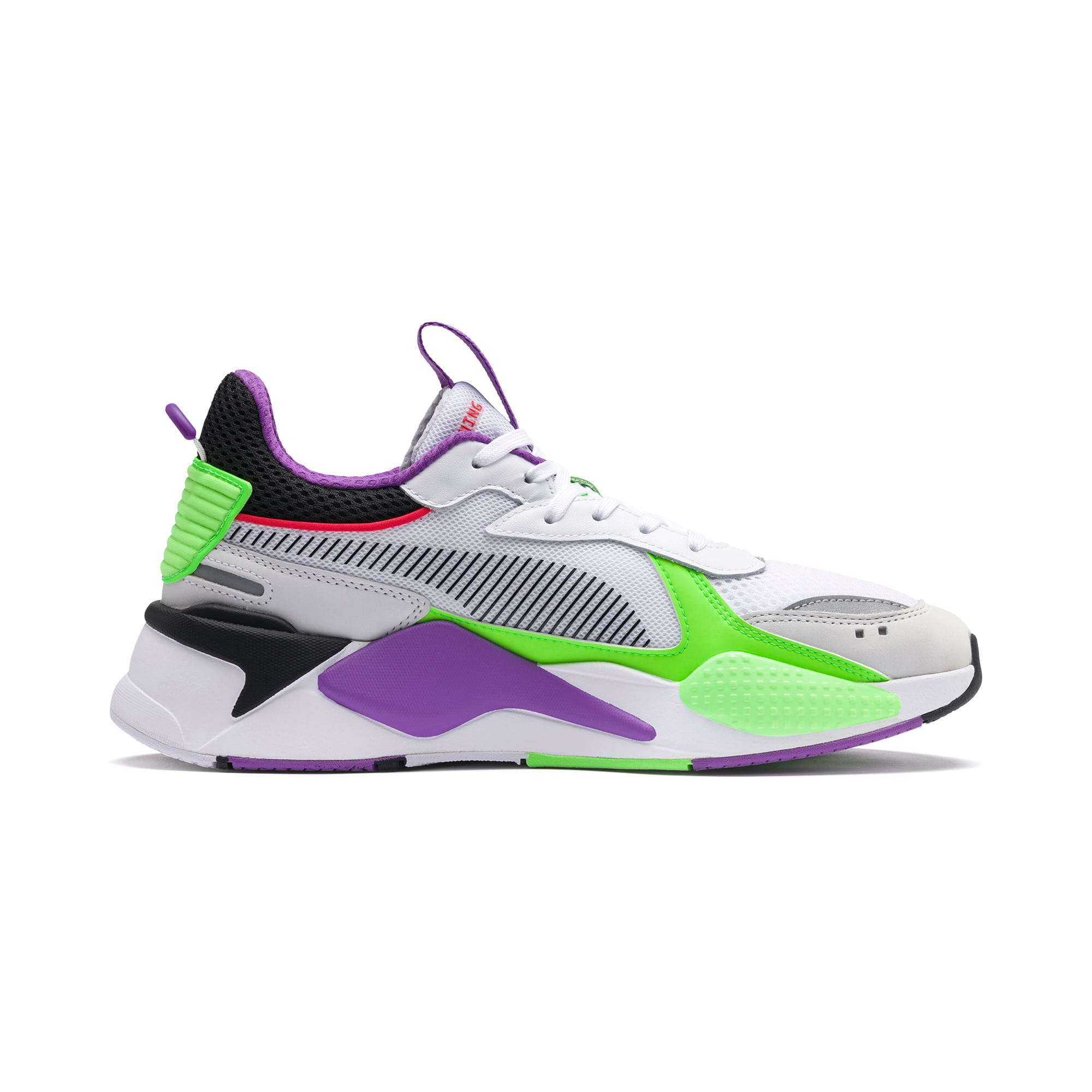 Thumbnail 5 of RS-X Bold Trainers, PWhite-Gr Gecko-Royal Lilac, medium