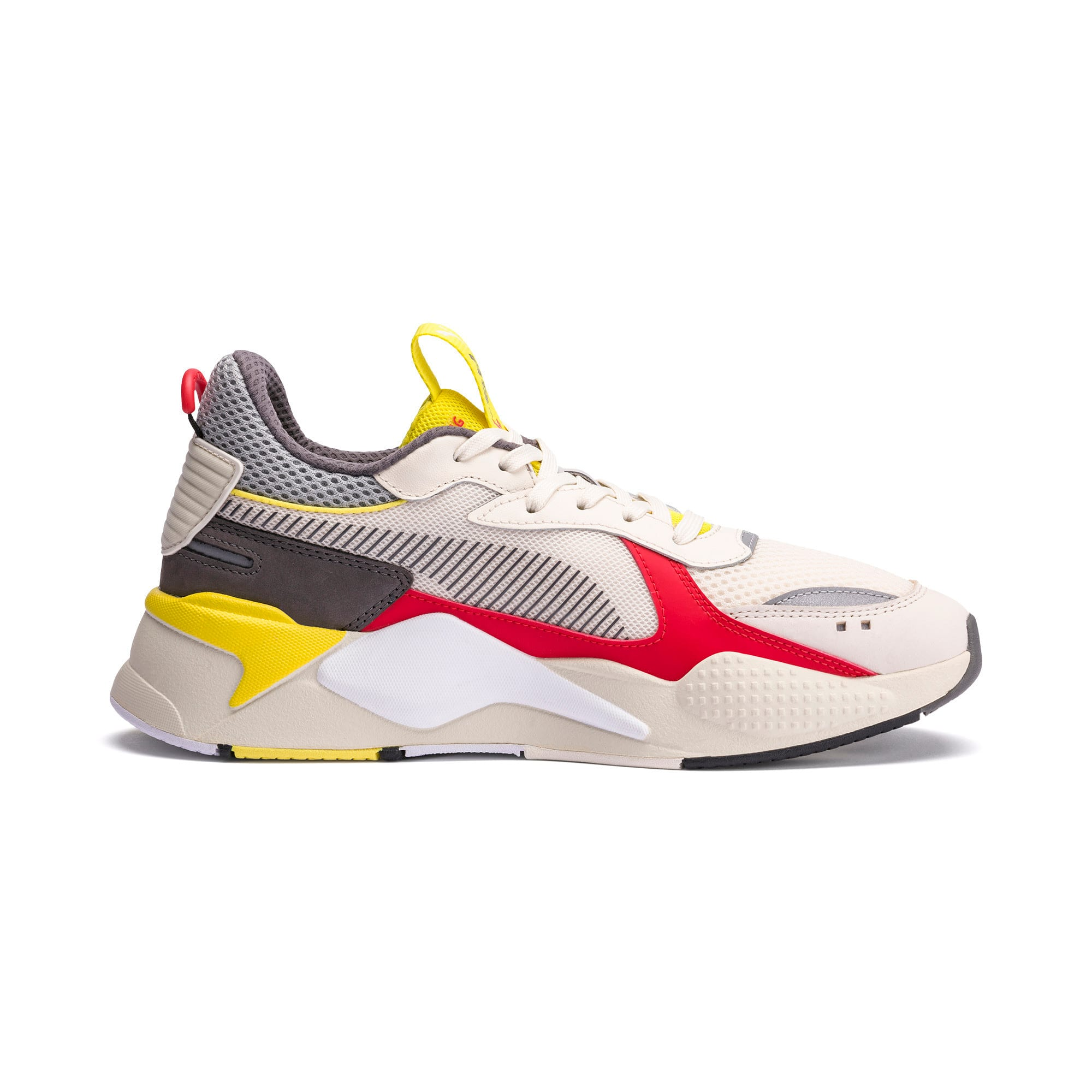 Thumbnail 5 of RS-X Bold Trainers, Whisper White-High Risk Red, medium