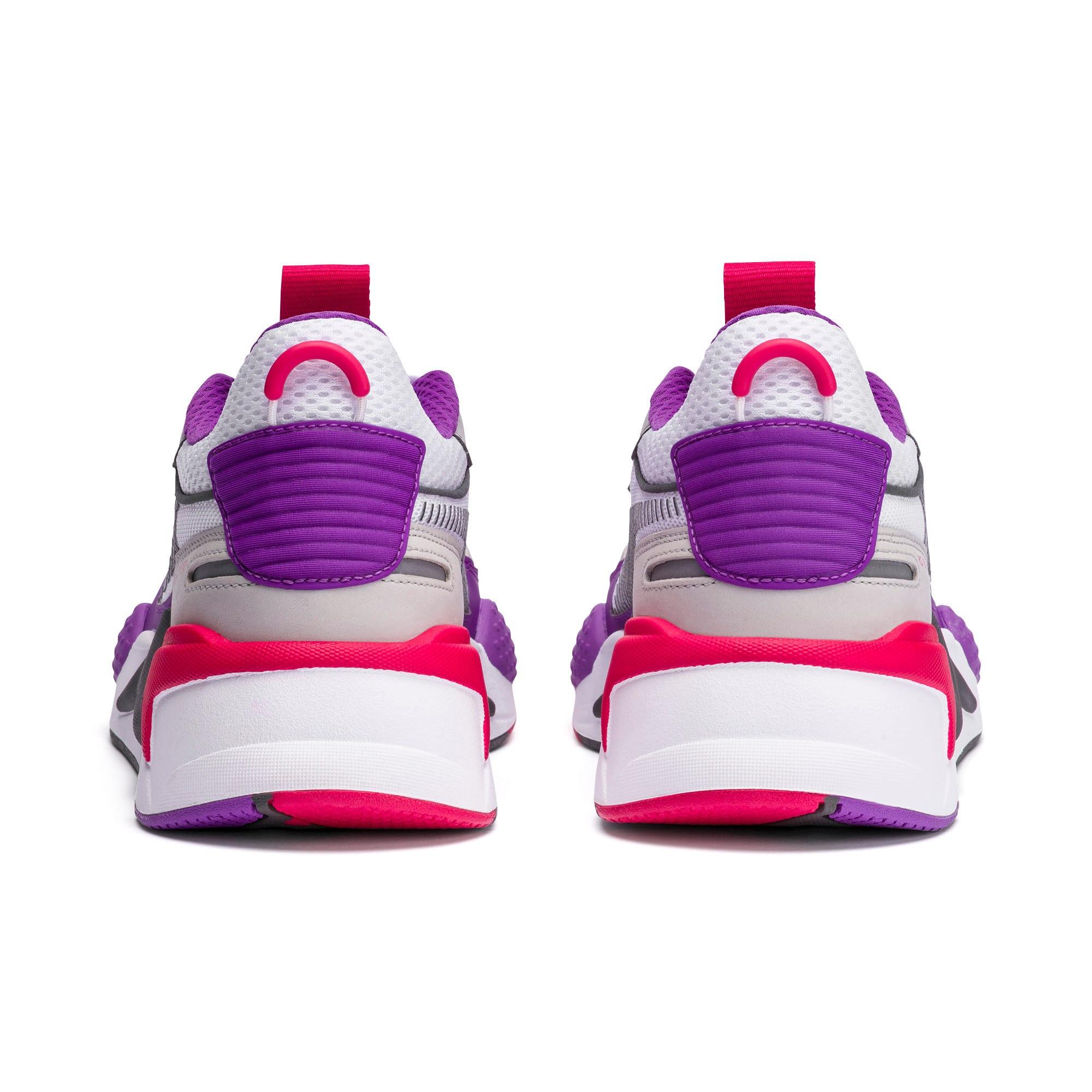 Thumbnail 3 of RS-X Bold Sneaker, PWhite-High Rise-Royal Lilac, medium