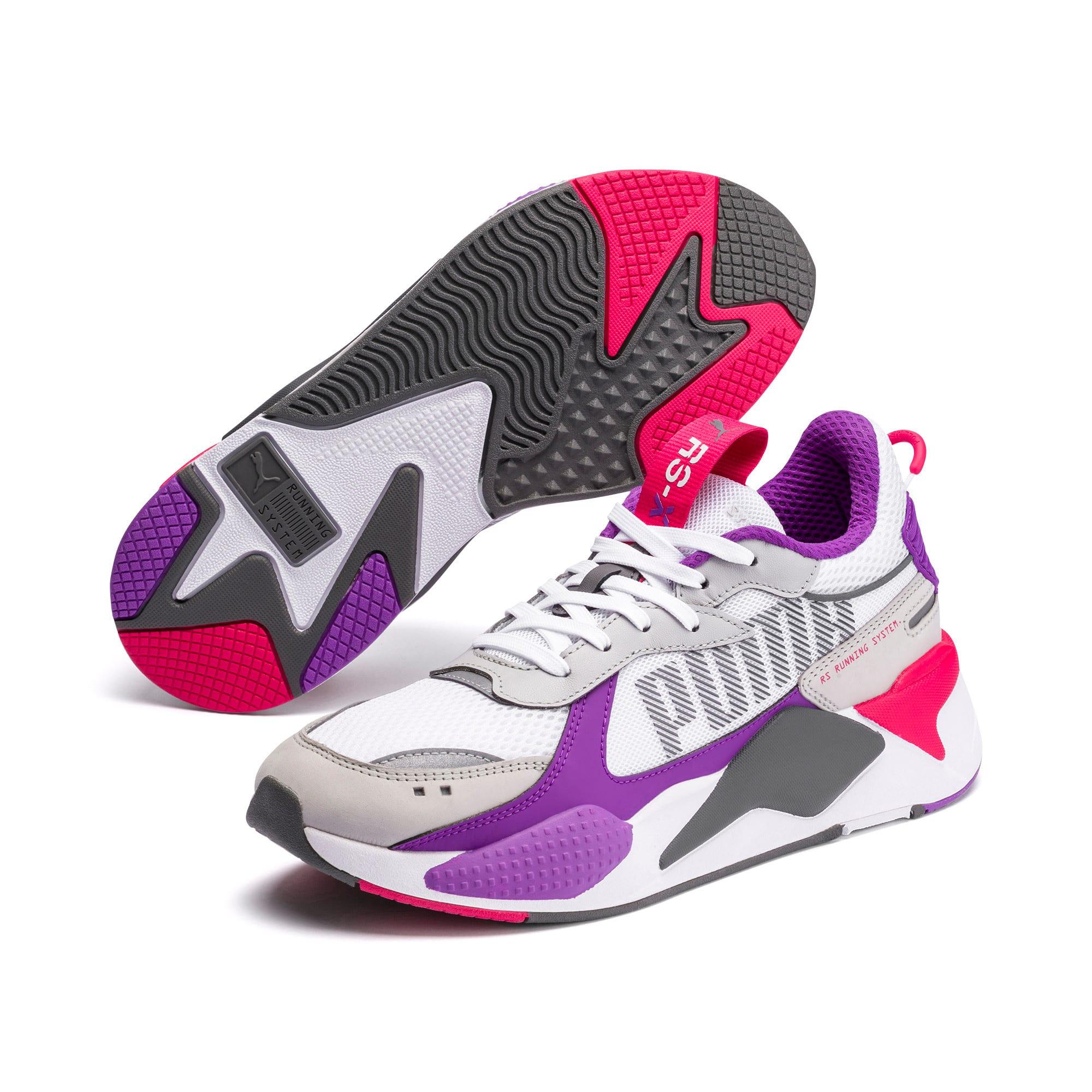 Thumbnail 2 of RS-X Bold Sneaker, PWhite-High Rise-Royal Lilac, medium
