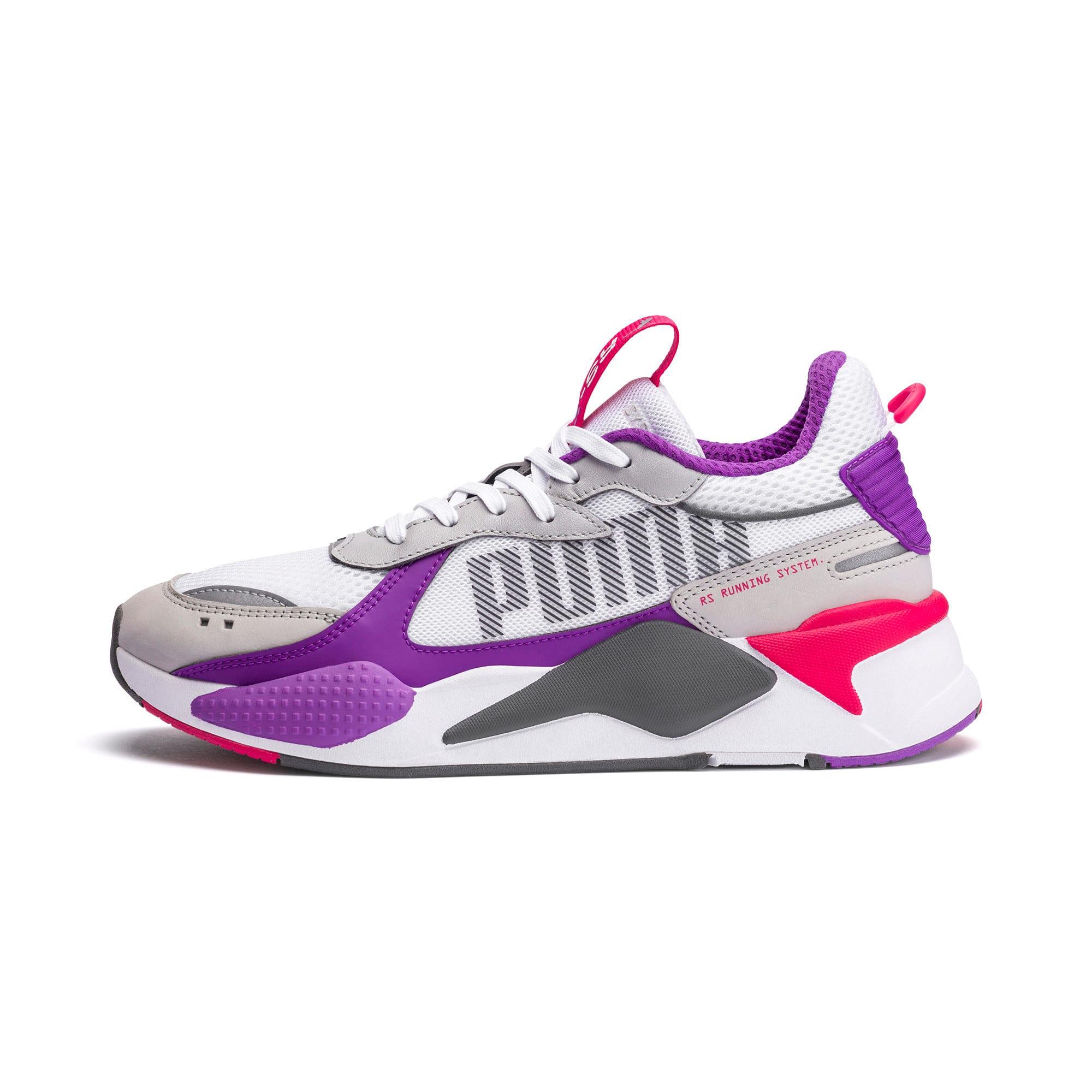 Thumbnail 1 of RS-X Bold Sneaker, PWhite-High Rise-Royal Lilac, medium