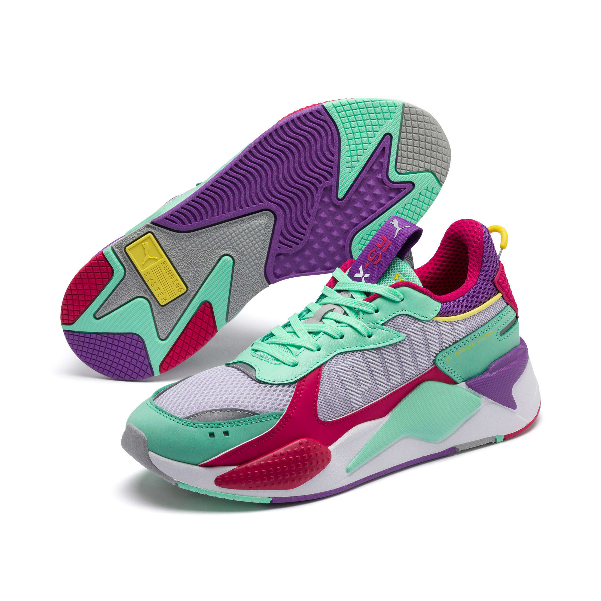 Thumbnail 2 of RS-X Bold Trainers, PurHeather-GrGlimmer-LPotion, medium