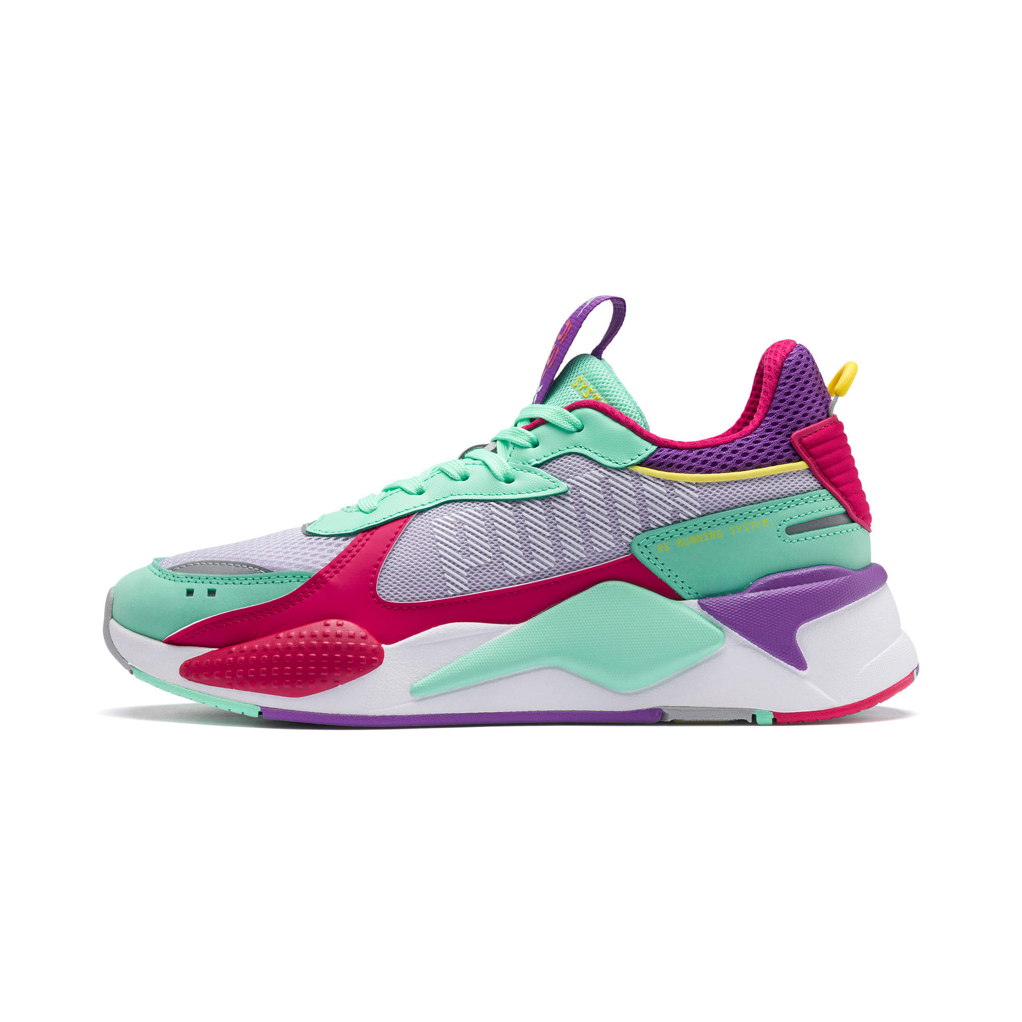 Thumbnail 1 of RS-X Bold Trainers, PurHeather-GrGlimmer-LPotion, medium