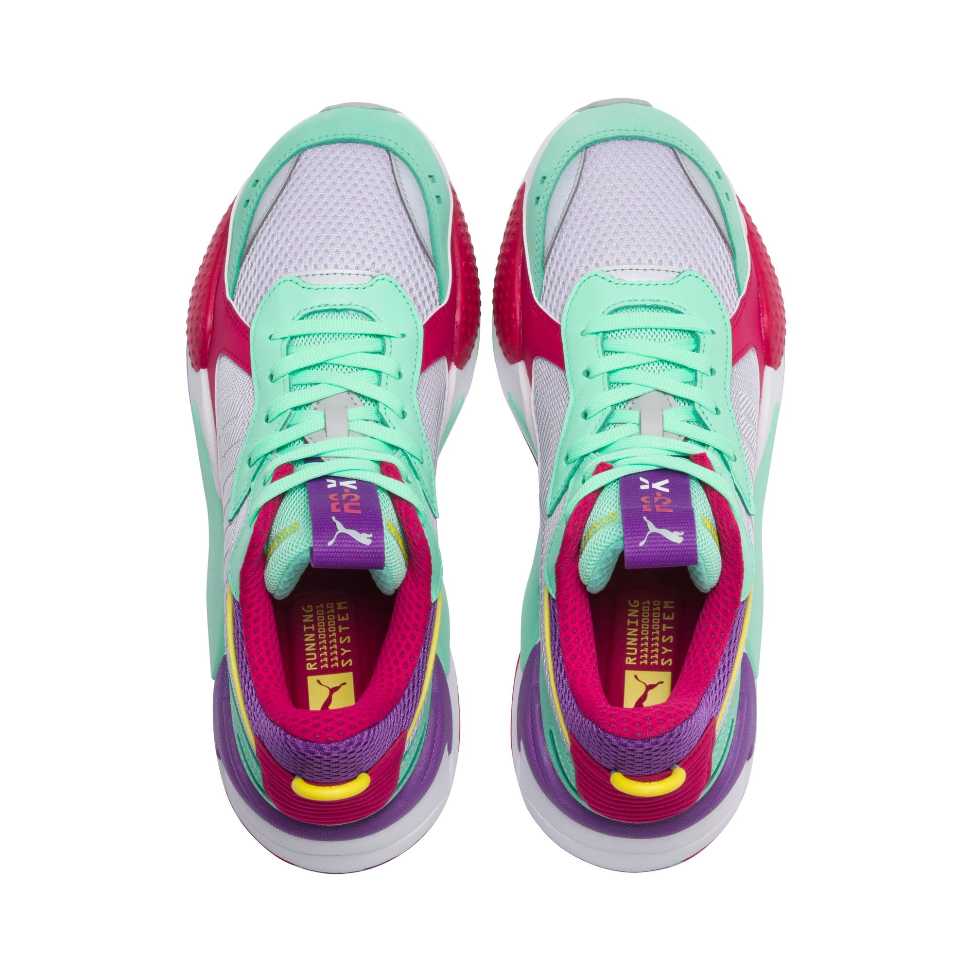 Thumbnail 6 of RS-X Bold Trainers, PurHeather-GrGlimmer-LPotion, medium