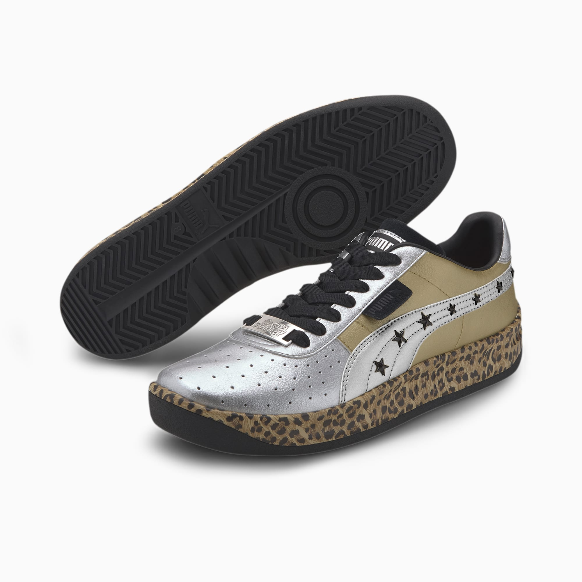 GV Special Leopard x Paul Stanley Trainers