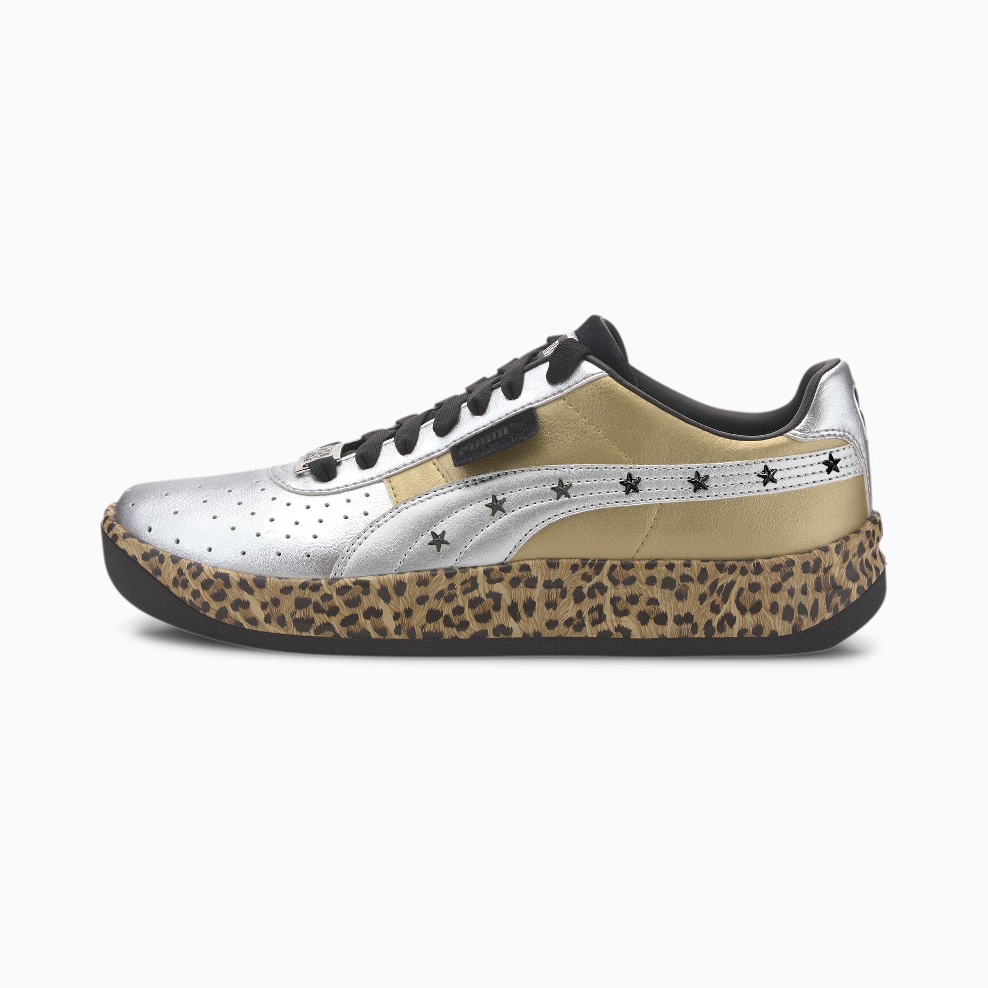 puma basket leopard print