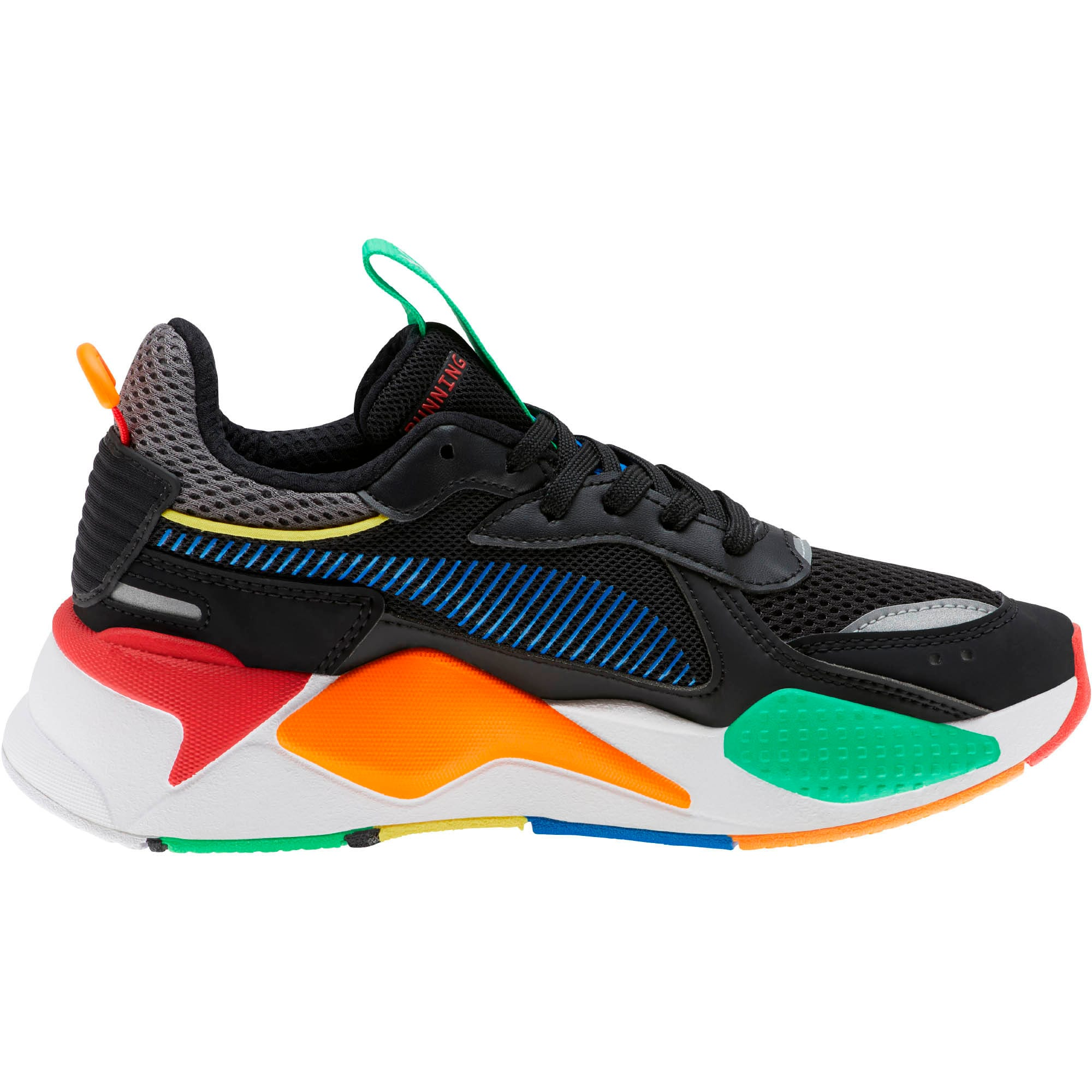RS-X Bold Sneakers JR, P Black-ANDEAN TOUCAN-Orange, large