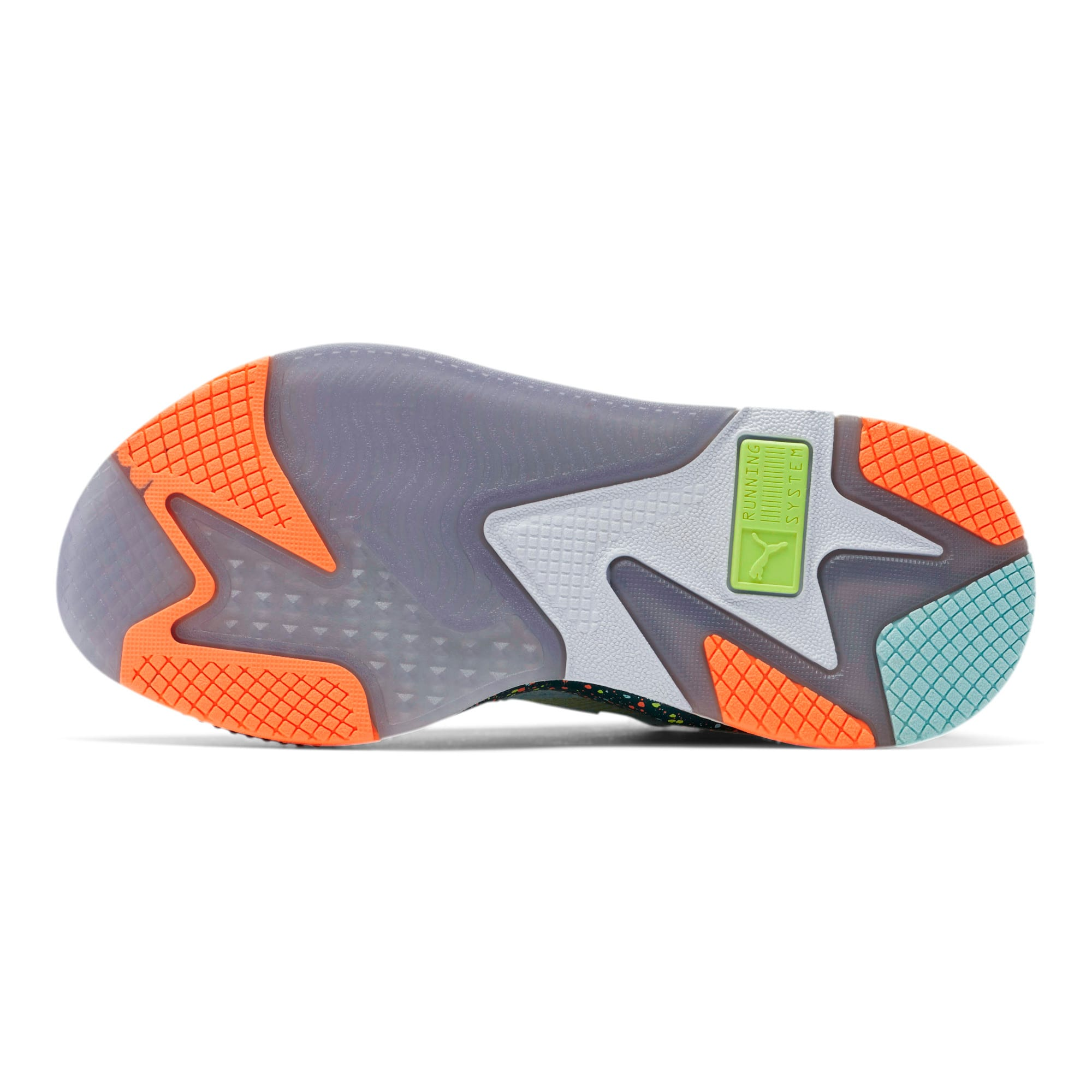 Thumbnail 4 of RS-X Fourth Dimension Sneakers JR, Fair Aqua-Ponderosa Pine, medium