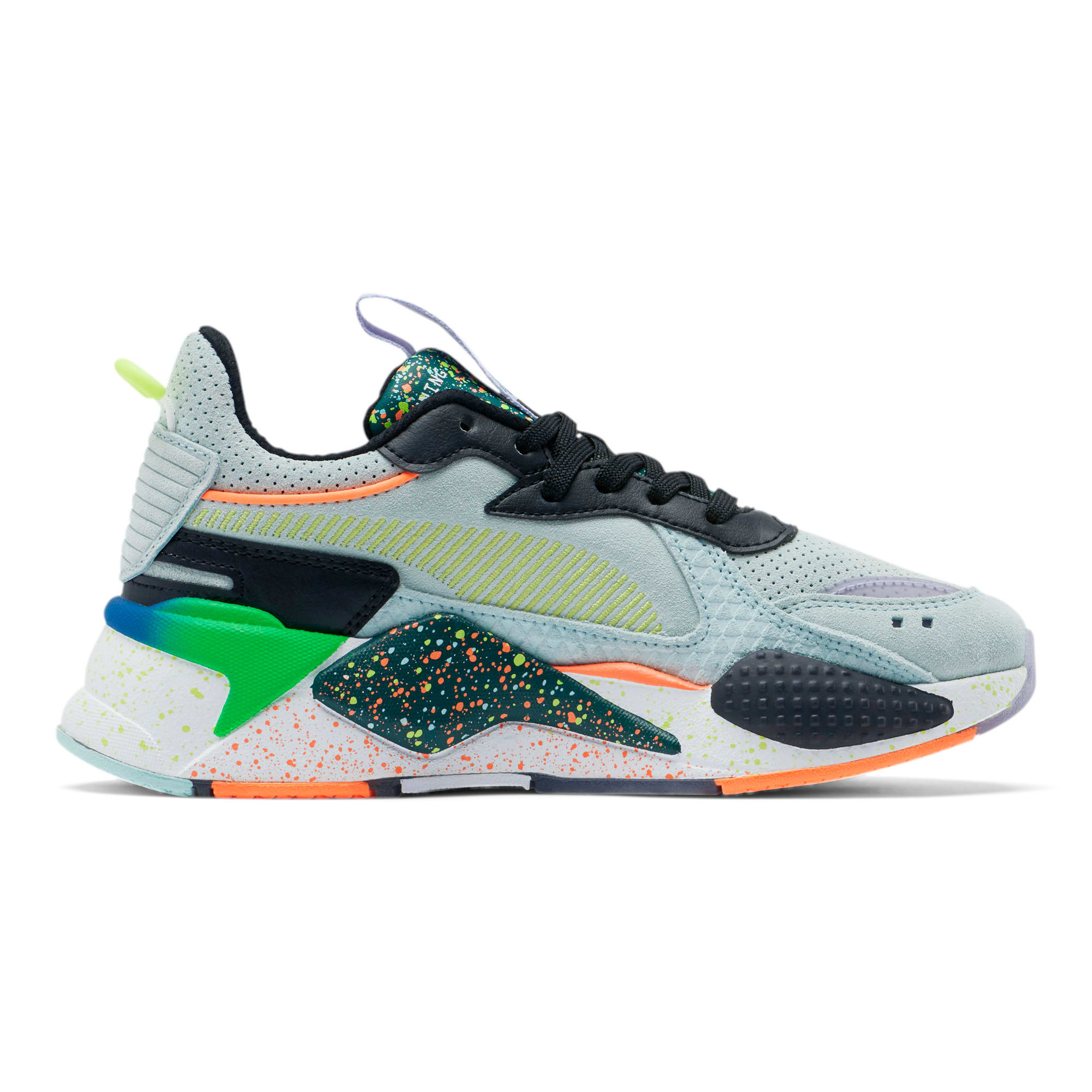 Thumbnail 5 of RS-X Fourth Dimension Sneakers JR, Fair Aqua-Ponderosa Pine, medium