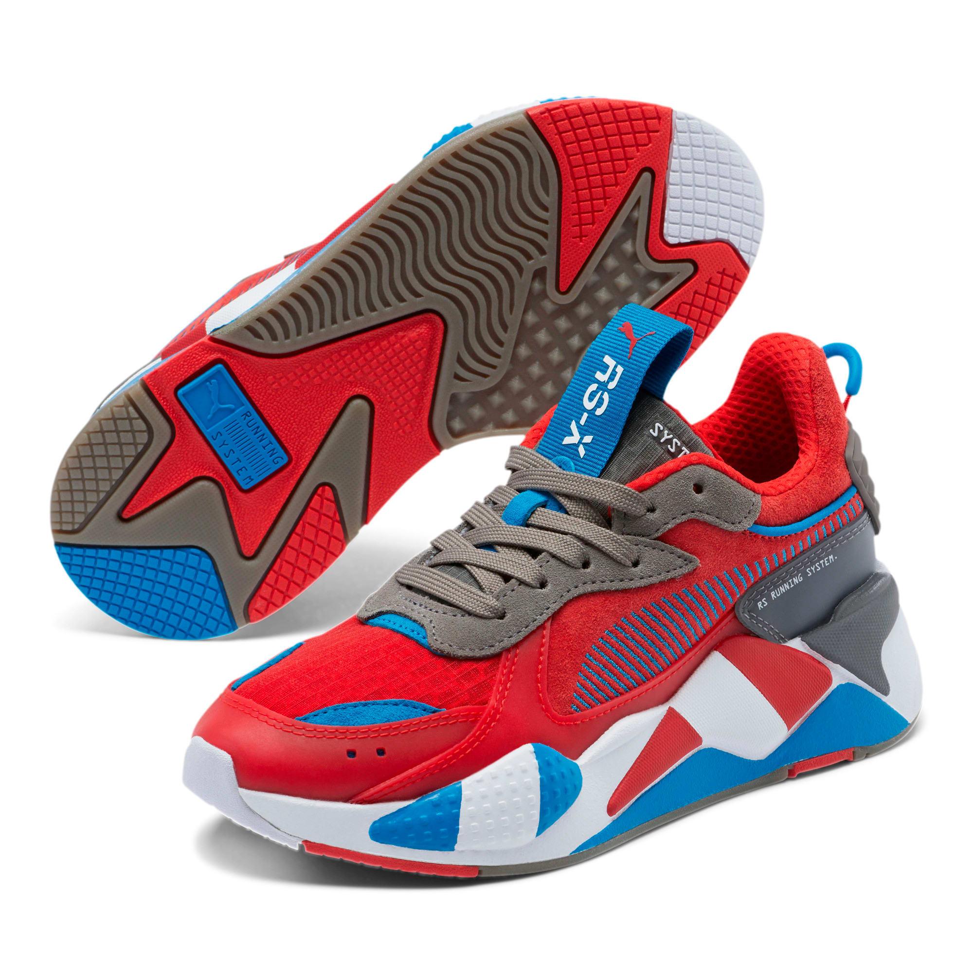 Thumbnail 2 of RS-X Retro Sneakers JR, Hi Ri Red-Ste Gray-In Bunti, medium